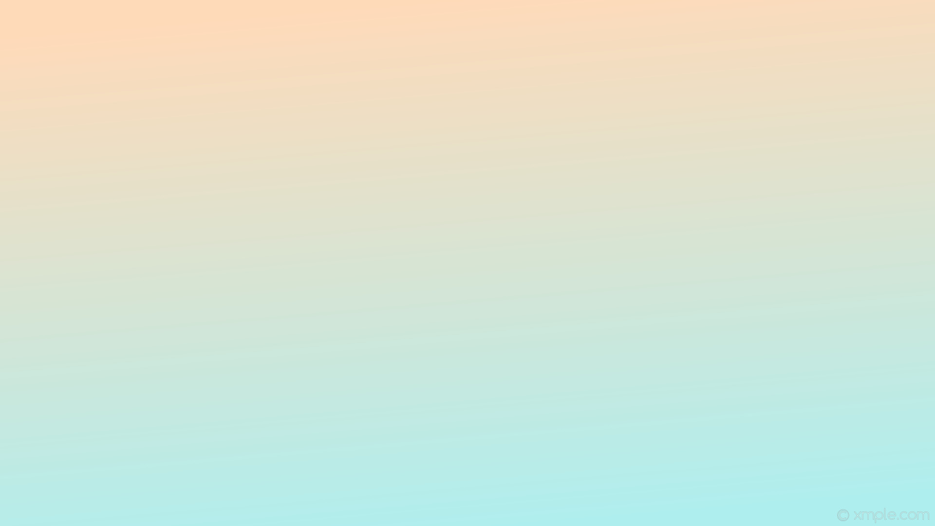 wallpaper linear yellow gradient blue peach puff pale turquoise #ffdab9  #afeeee 105°