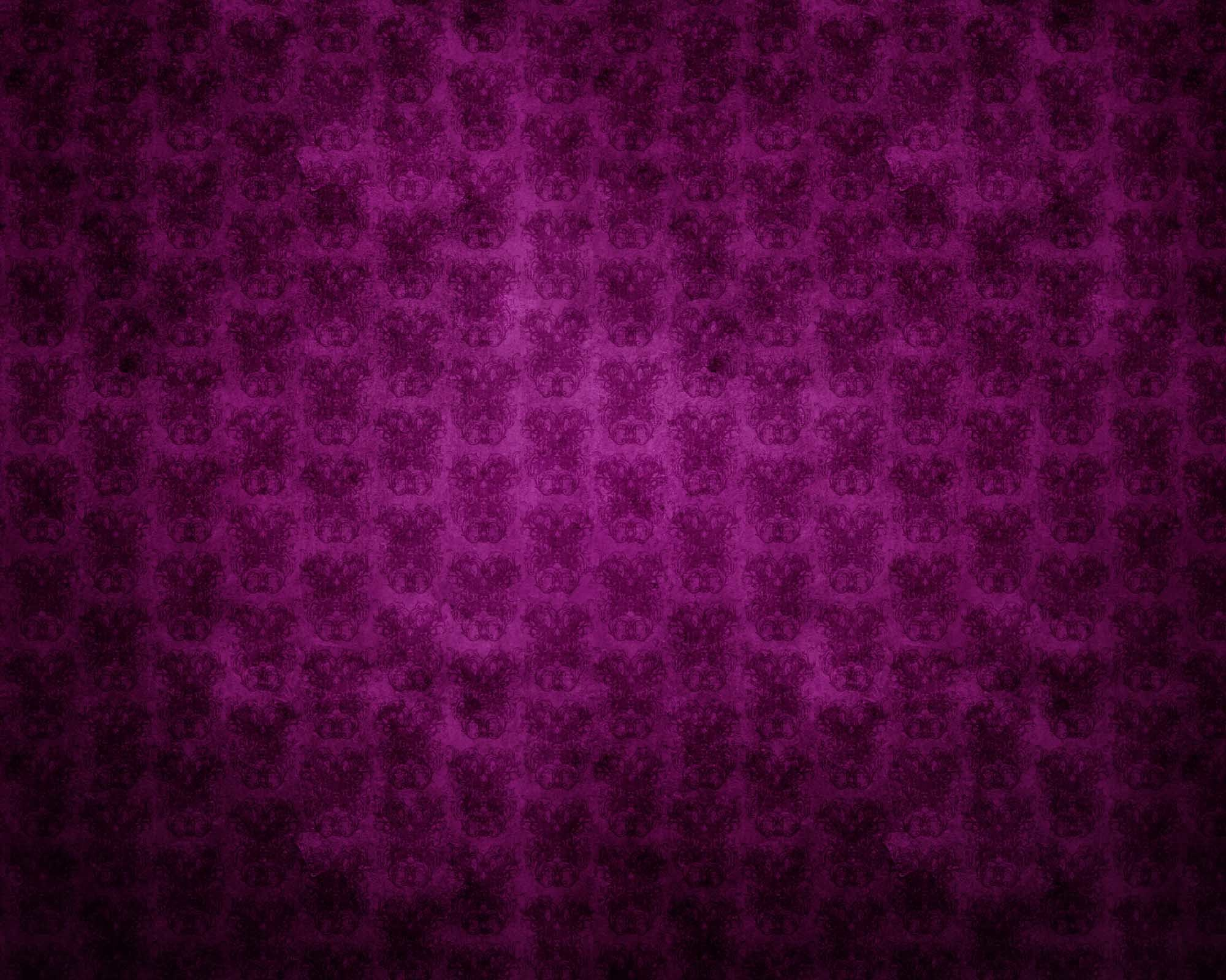 <b>Antique Purple Wallpaper</b> Borders