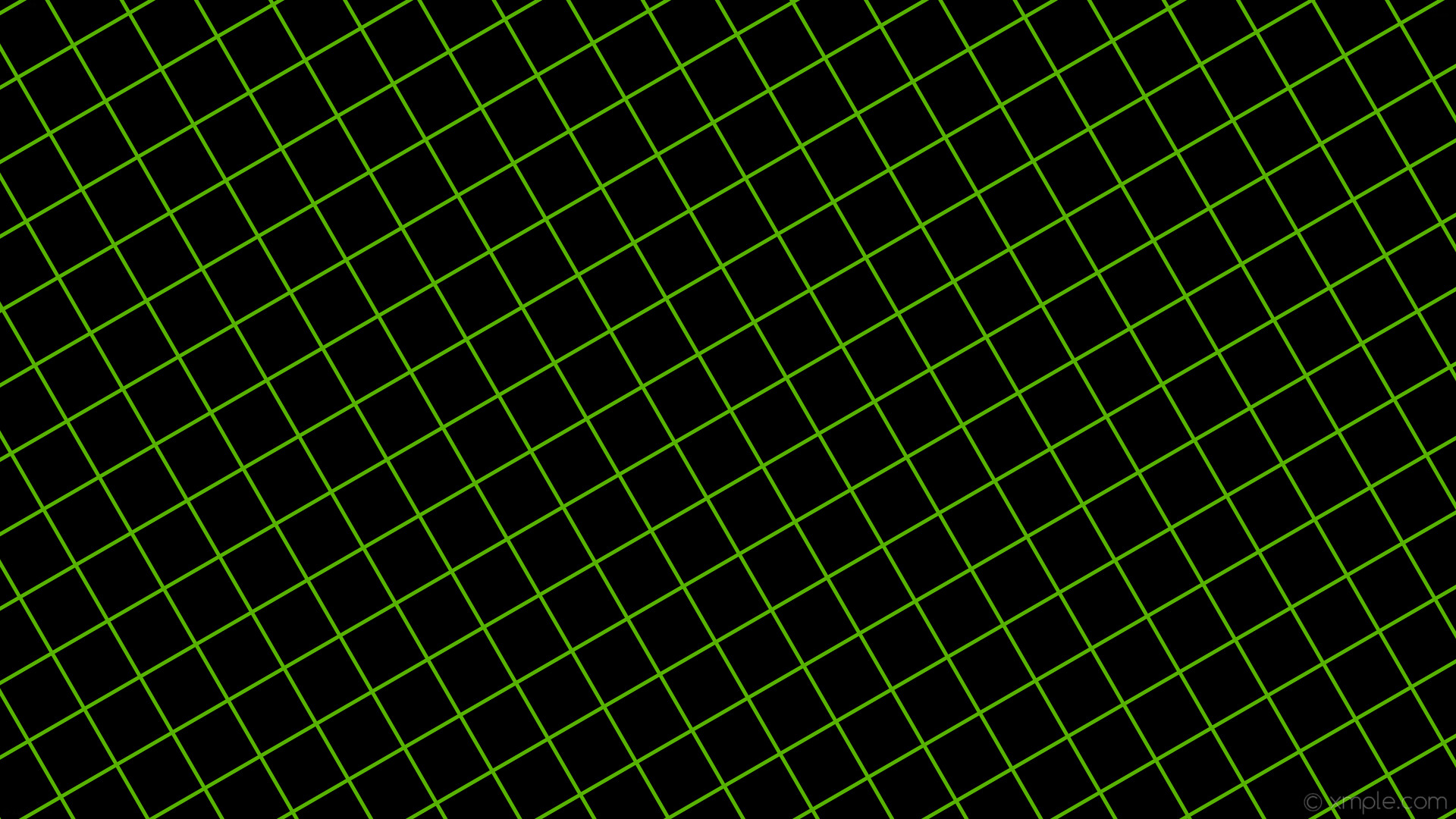 wallpaper graph paper green black grid lawn green #000000 #7cfc00 30° 5px  85px