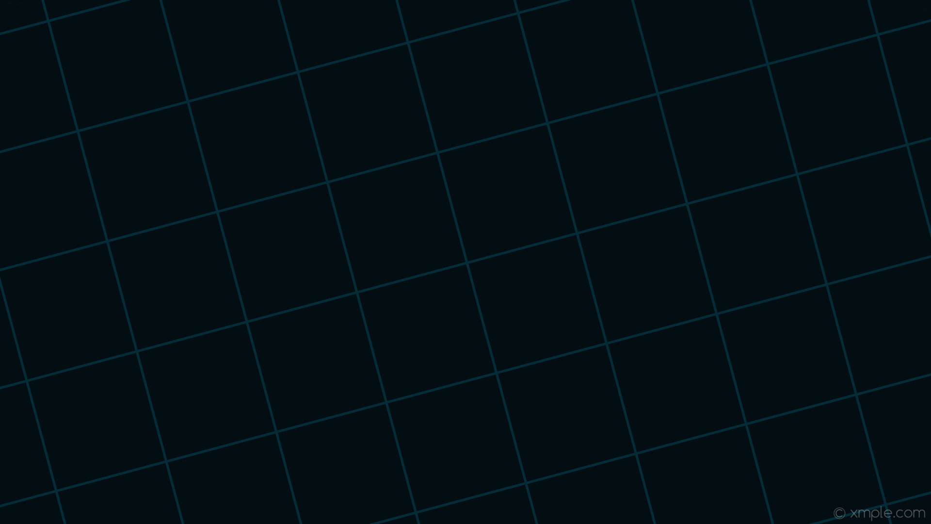 wallpaper black grid graph paper cyan dark cyan #020e12 #033949 15° 5px  235px