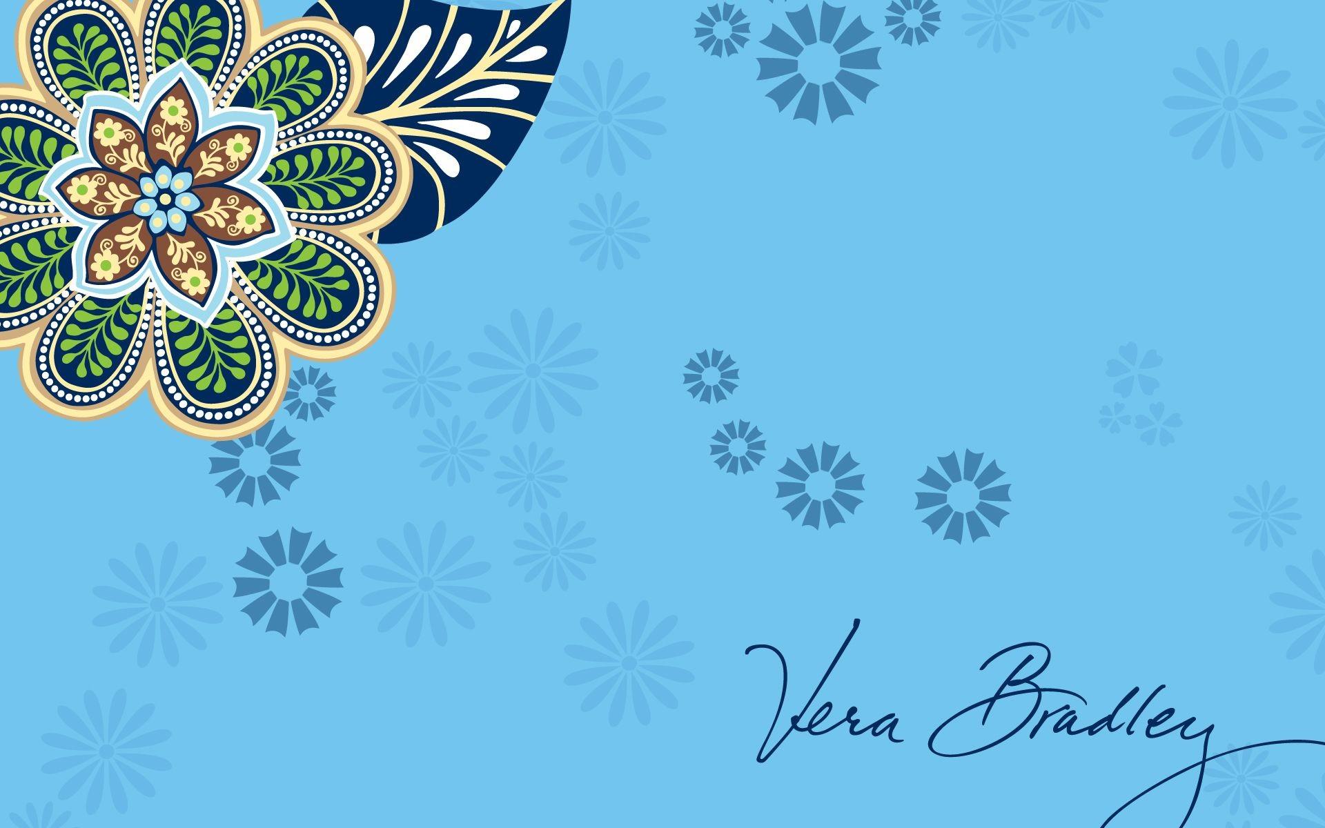 Vera Bradley Bali Blue Desktop Wallpaper