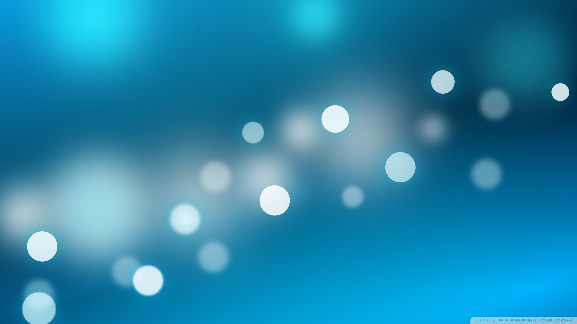 Blue Sparkles Hd Desktop Wallpaper Widescreen High Definition