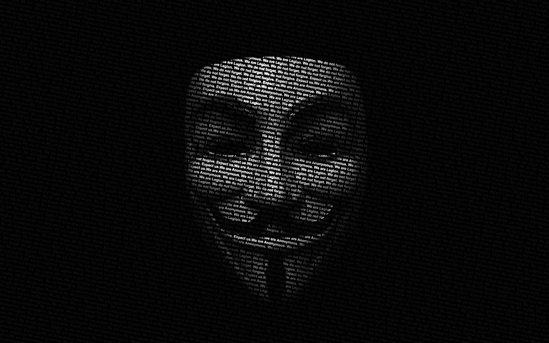 Anonymous Black Wallpaper Desktop #6333 Wallpaper   Cool .