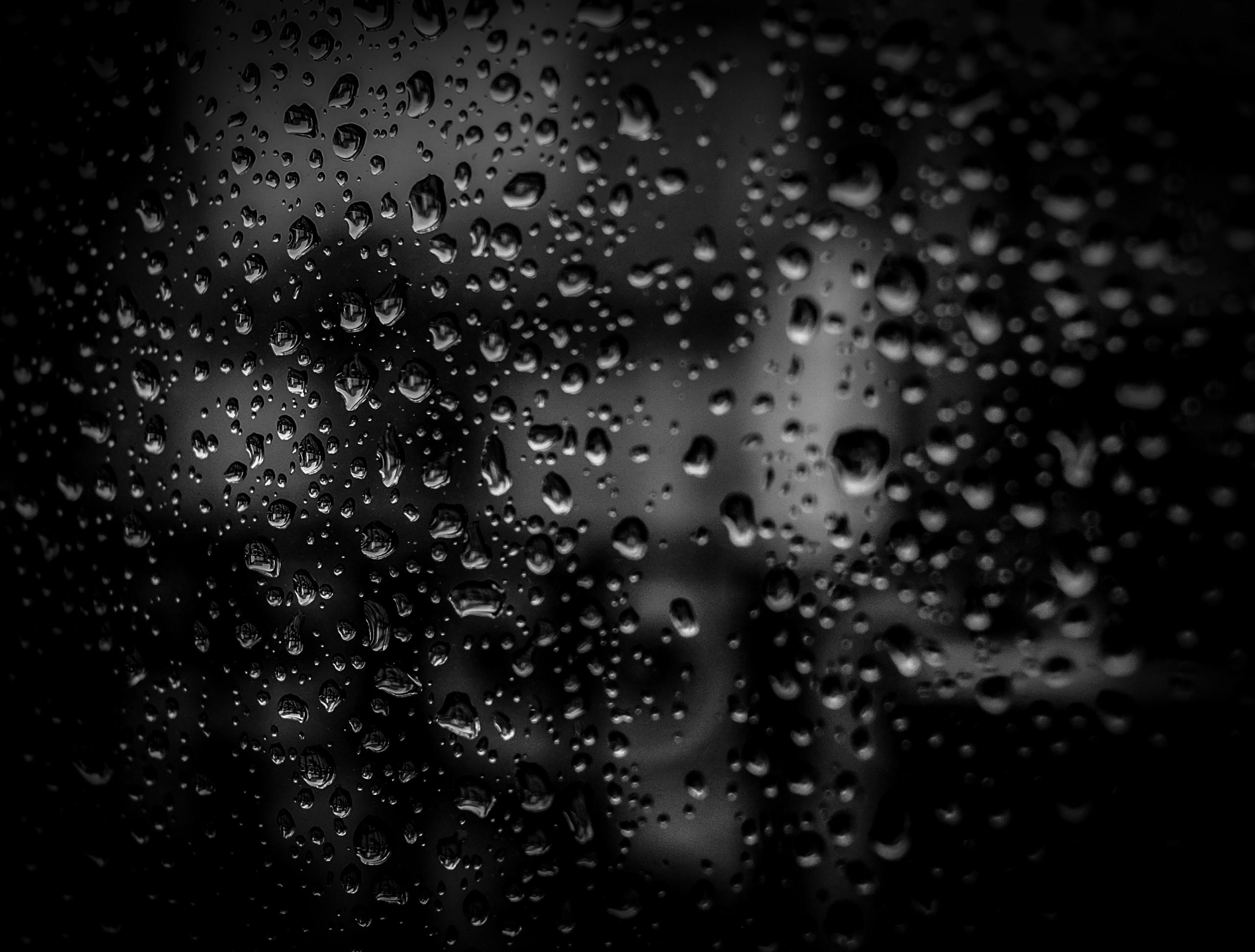 Free stock photo of water, dark, glass, dew