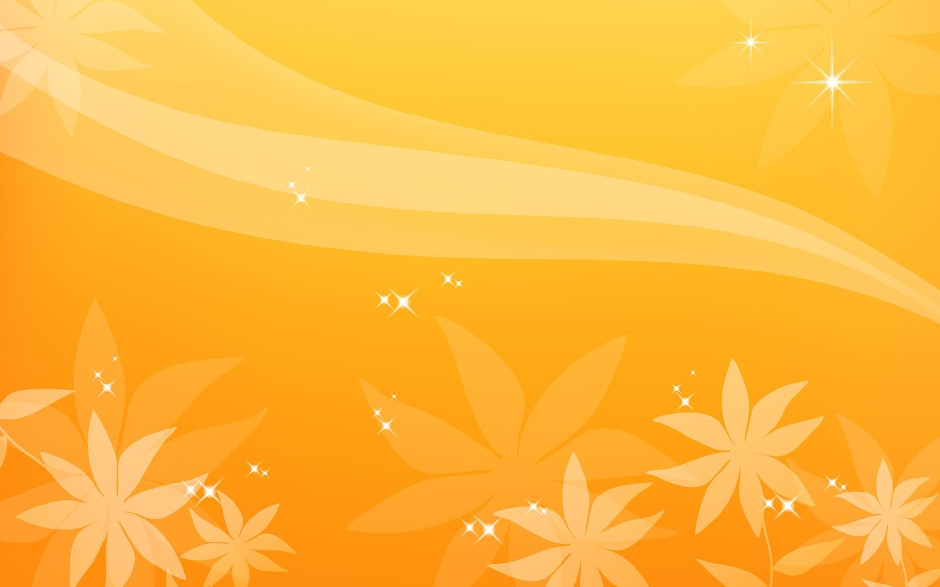Starry Flashes on Orange Background Images