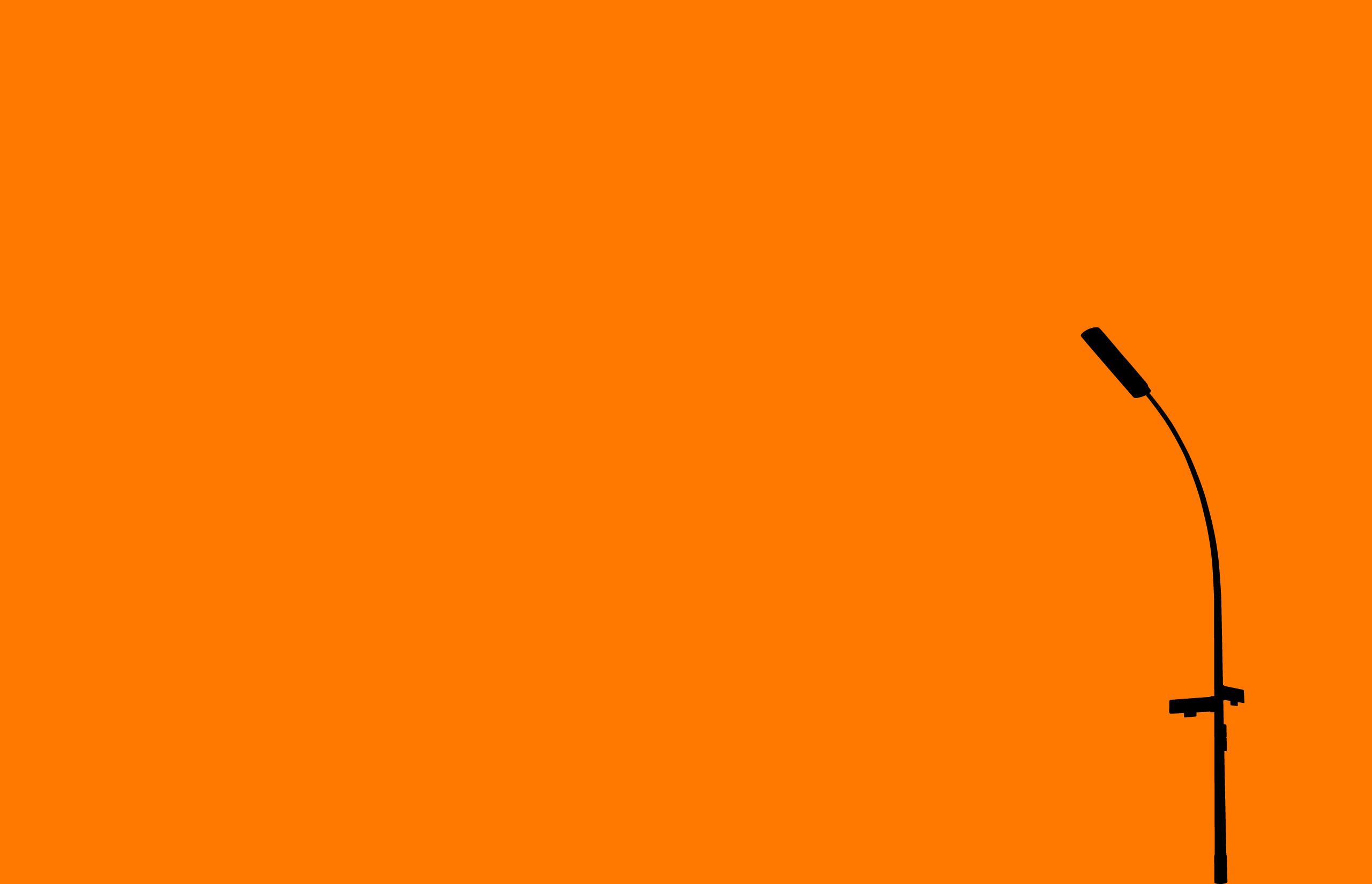 Orange Wallpaper Background