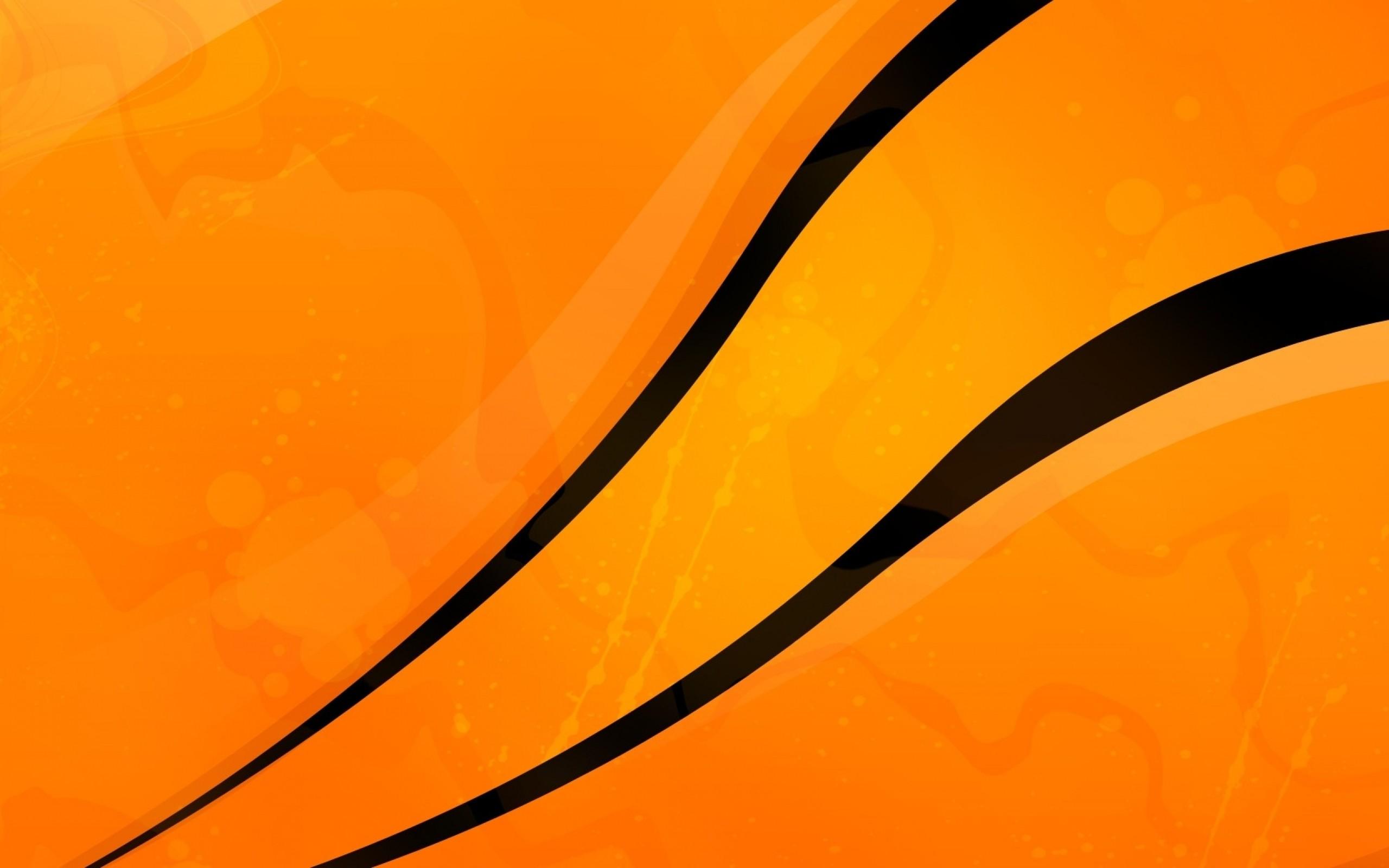 Abstract Orange Wallpaper 48551