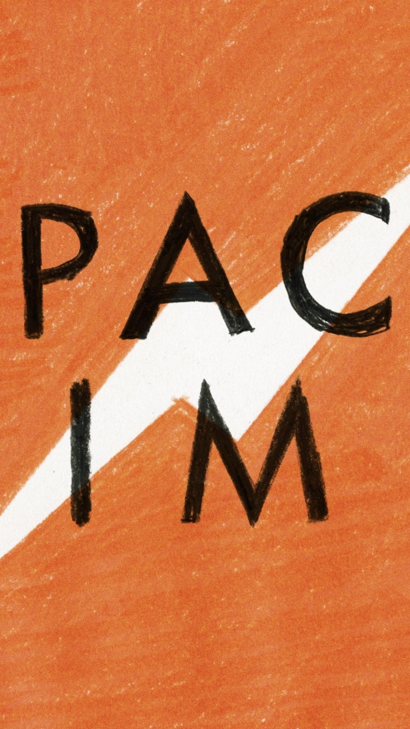 Wallpaper orange, black, white, time, space