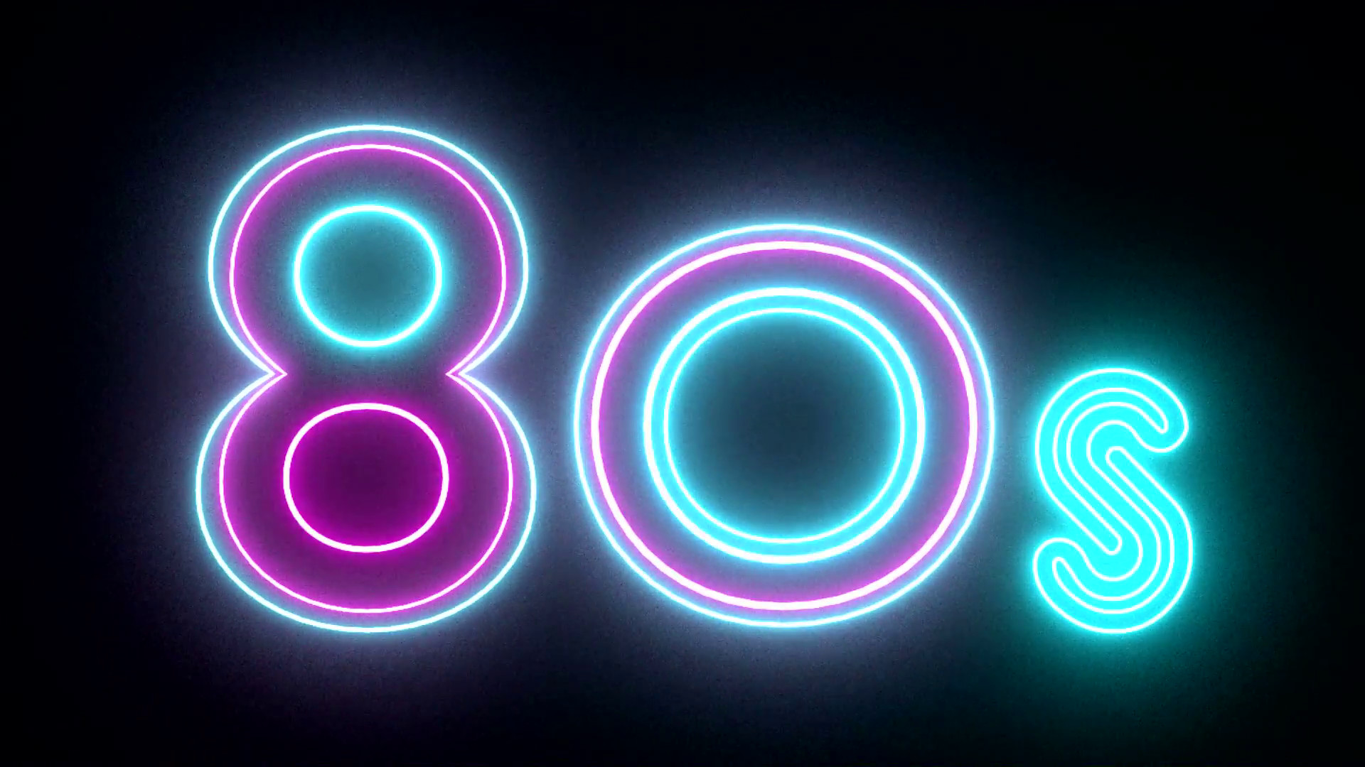 80s neon sign lights logo text glowing multicolor Motion Background –  VideoBlocks