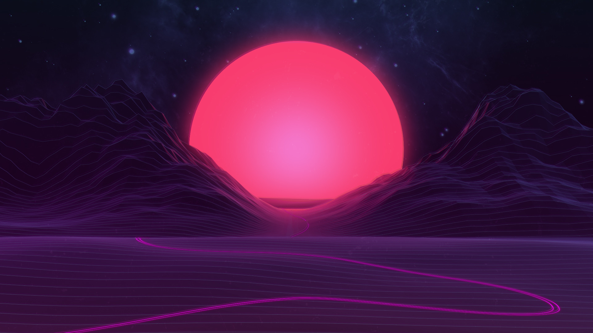 Neon Sunset by AxiomDesign Neon Sunset by AxiomDesign