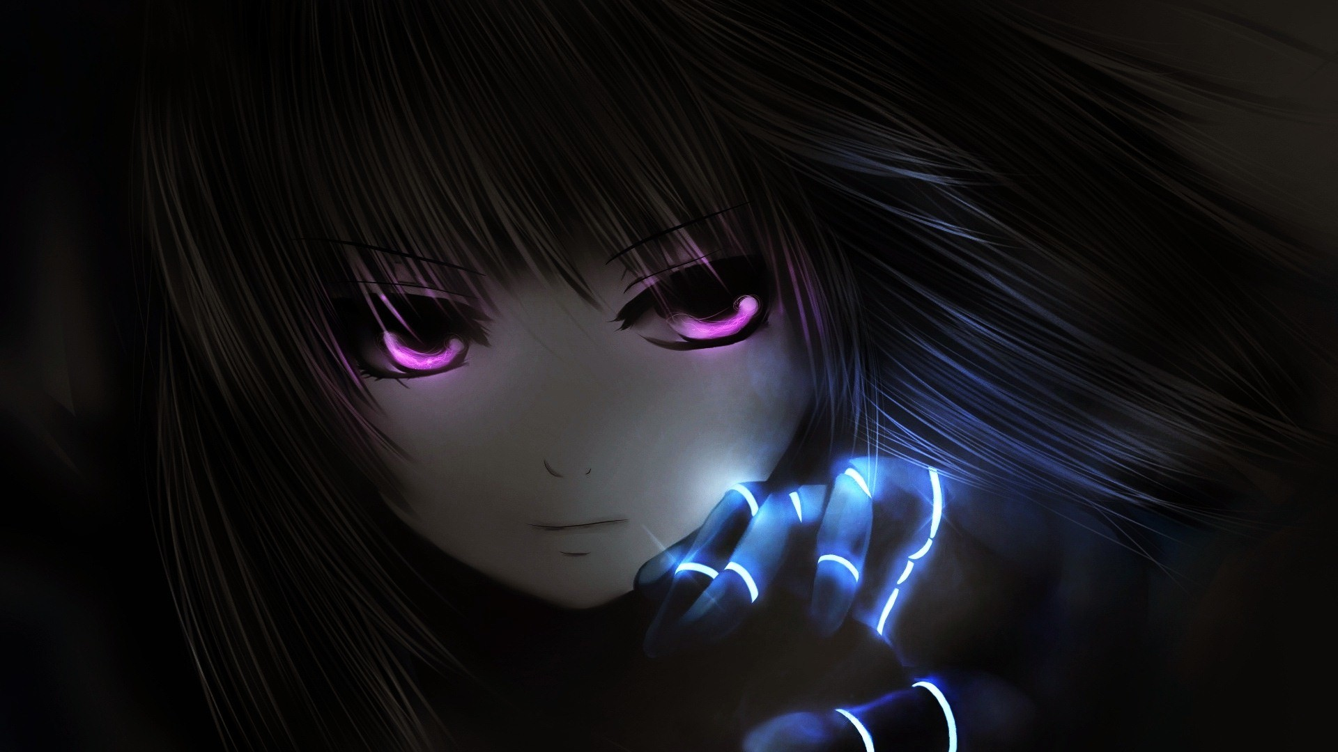 dark anime desktop wallpaper 8924