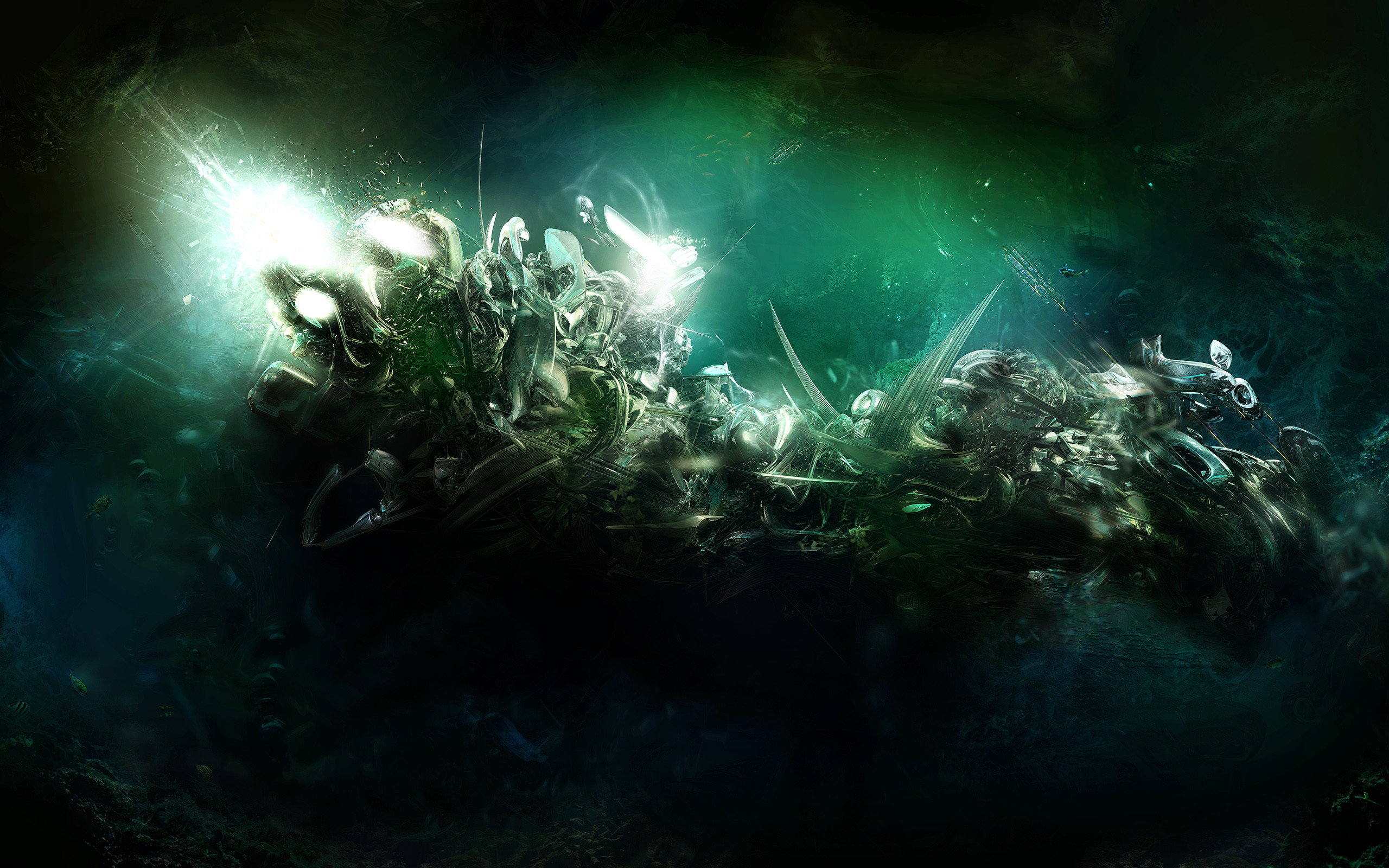 Dark Abstract Predator wallpaper from Dark wallpapers