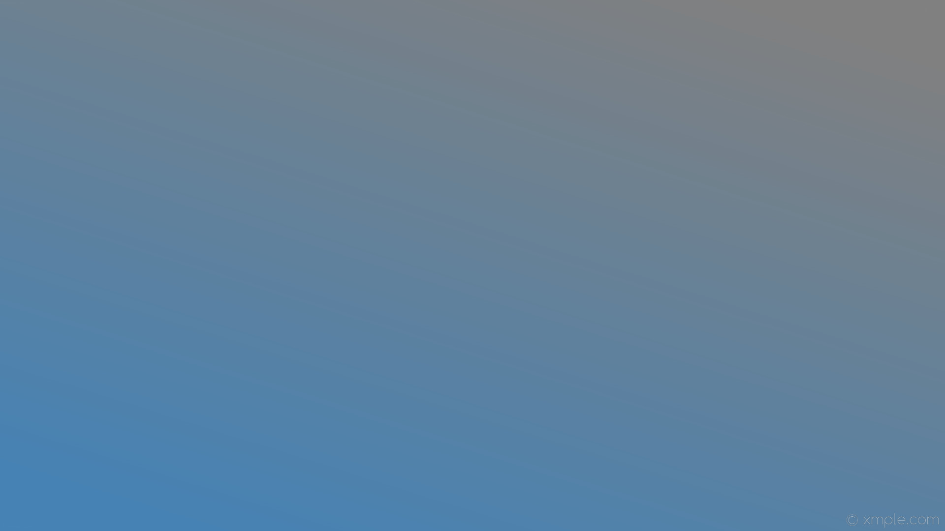 wallpaper grey blue gradient linear gray steel blue #808080 #4682b4 45°
