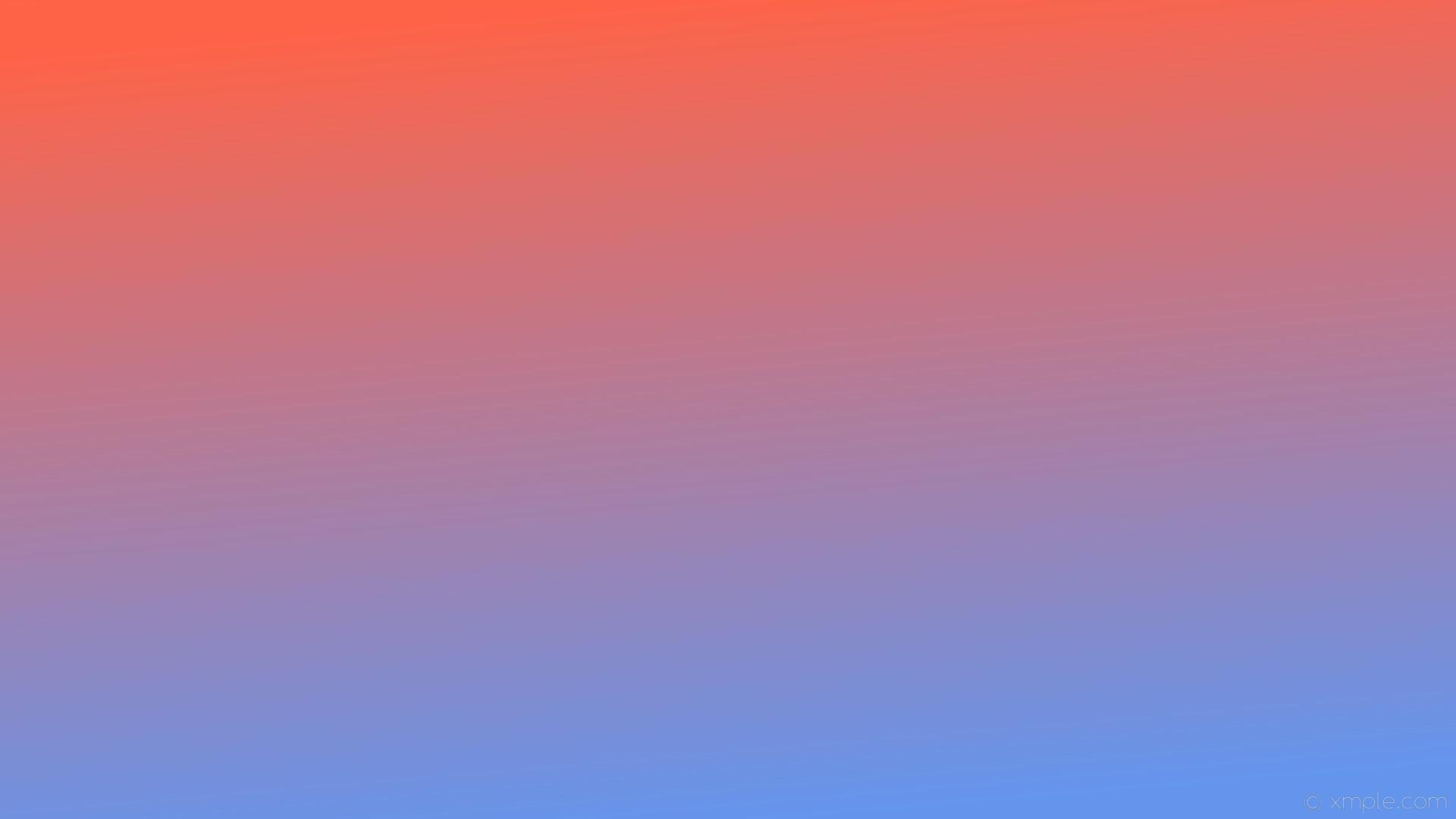wallpaper linear orange blue gradient cornflower blue tomato #6495ed  #ff6347 285°