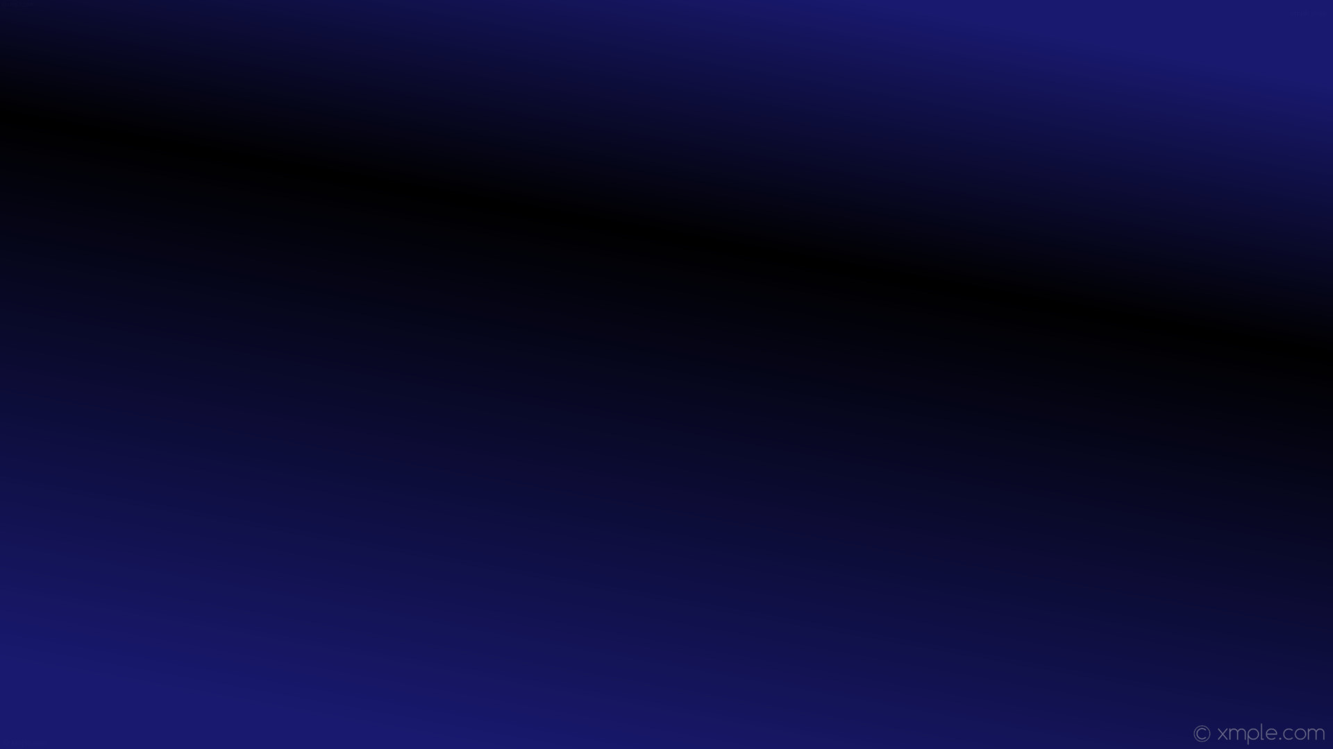 wallpaper black blue gradient linear highlight midnight blue #191970  #000000 240° 67%