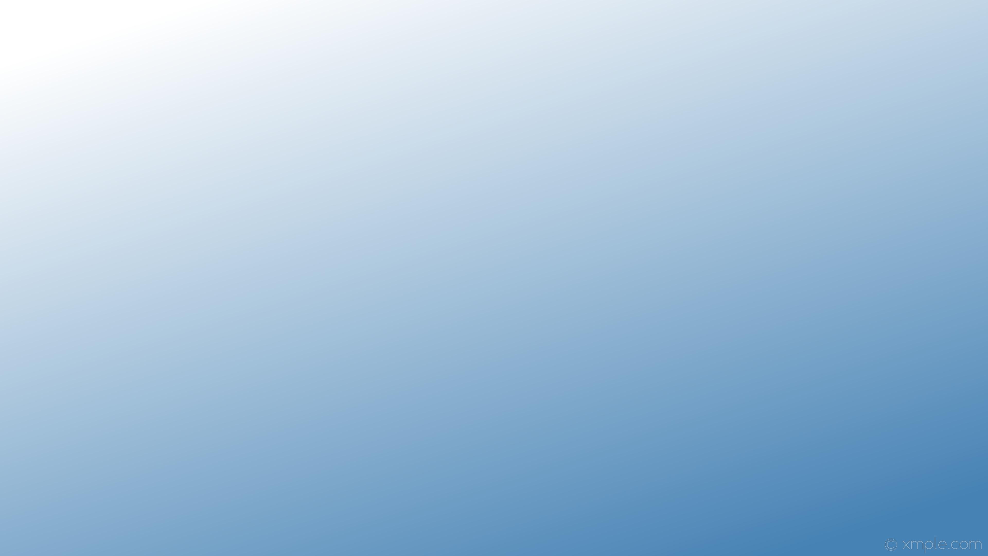 Wallpaper gradient blue white linear #ffffff #4682b4 135 .