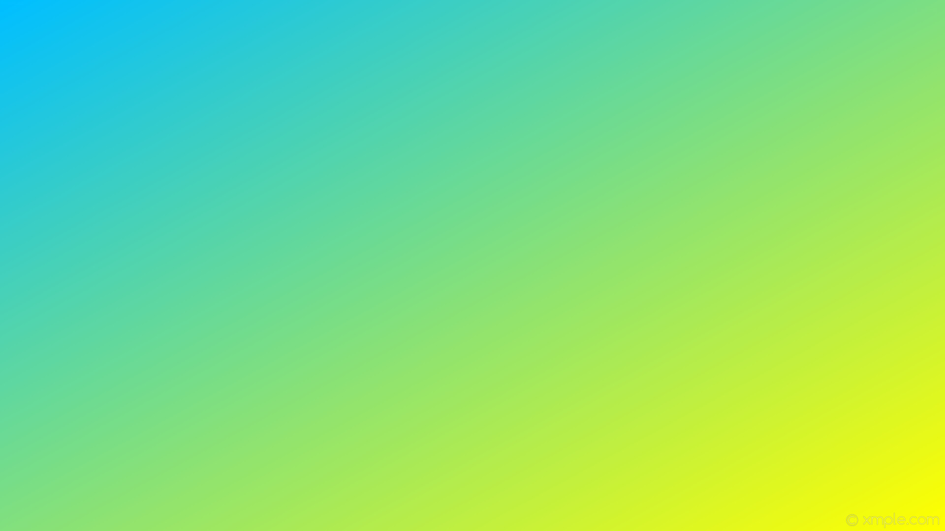 wallpaper gradient yellow blue linear deep sky blue #ffff00 #00bfff 330°