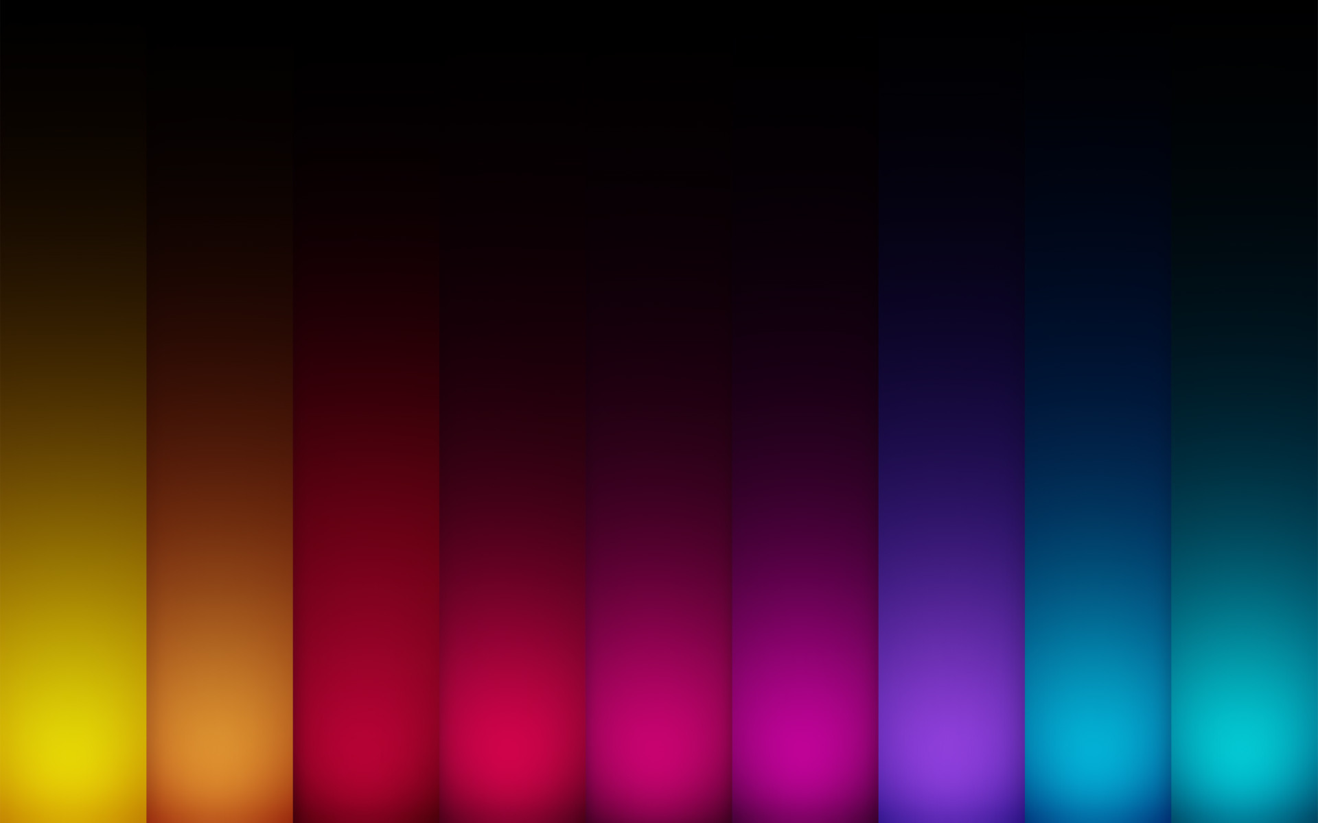 … Yellow-Blue Gradient Wallpaper by Winsord