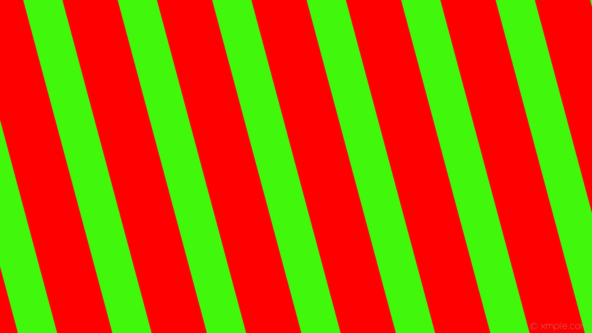 Red And Green Striped Wallpaper