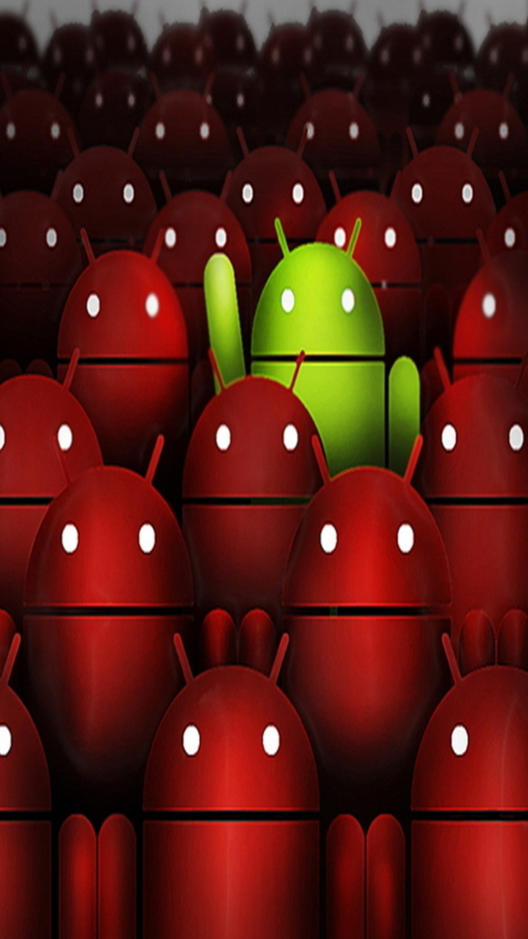 Green and red Android Samsung Galaxy Note 3 Wallpapers