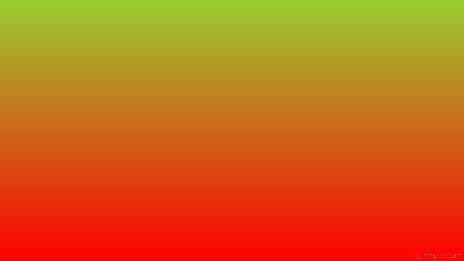 wallpaper gradient linear red green yellow green #ff0000 #9acd32 270°