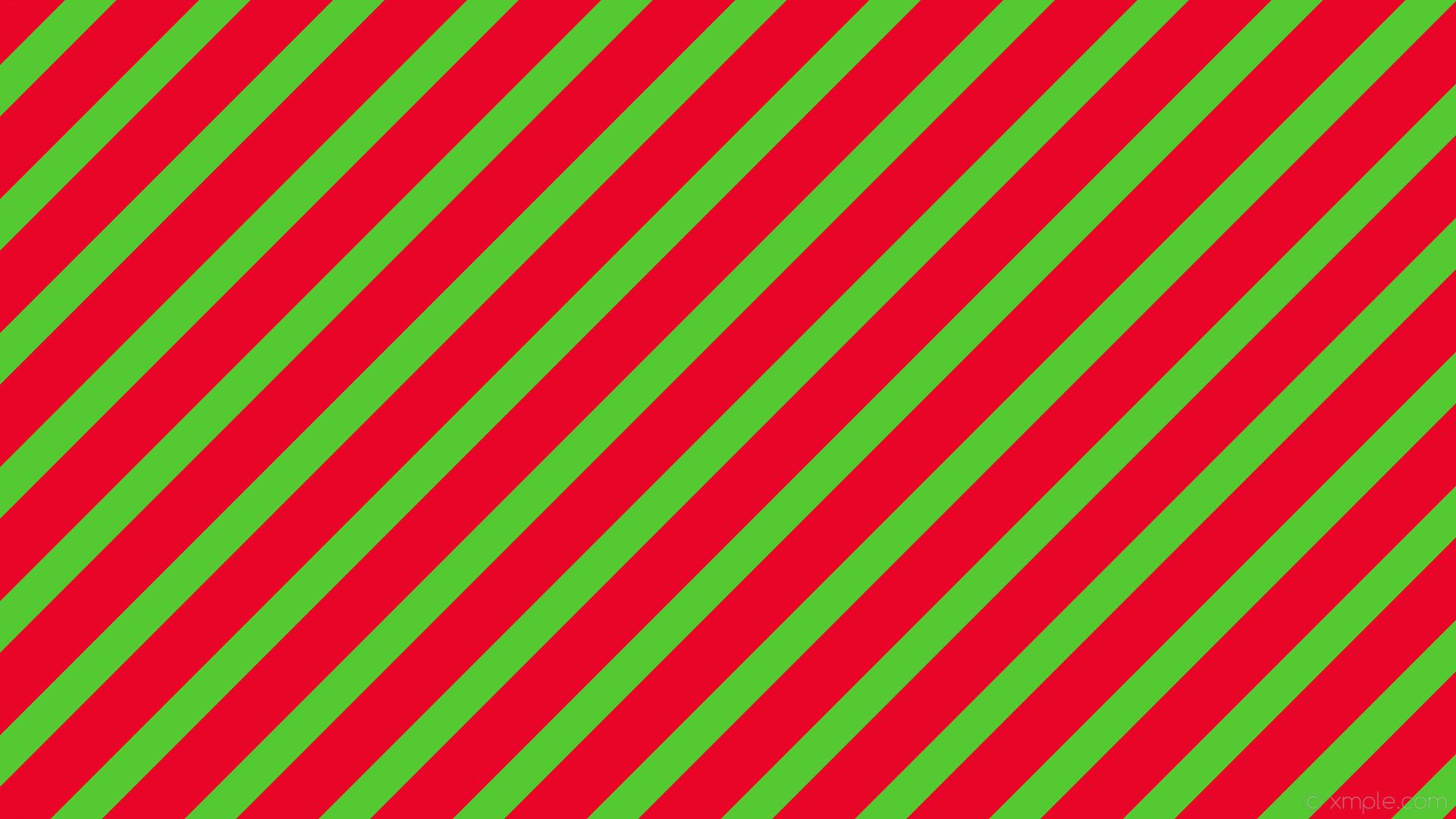 wallpaper stripes red streaks green lines #55c931 #e90527 diagonal 45° 48px  77px