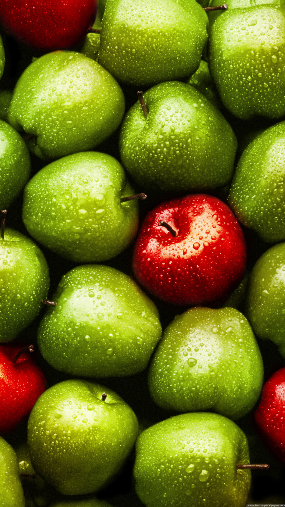 Download Green Red Apples iPhone 6 Plus HD Wallpaper