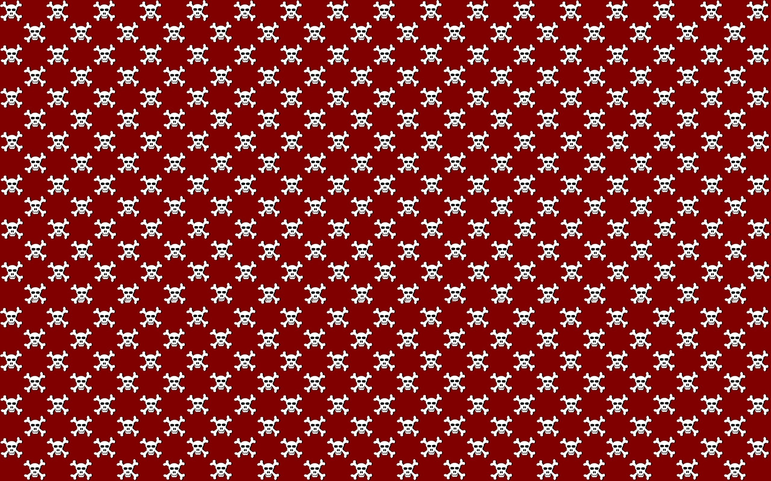 Skull Red Background Wallpaper At Dark Wallpapers
