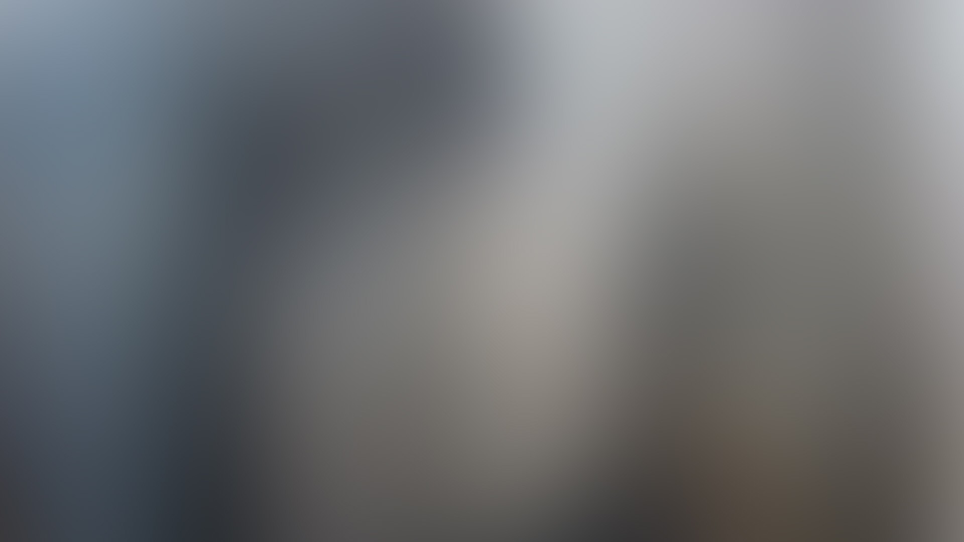 Preview wallpaper gray, white, spots, abstraction, faded 1920×1080