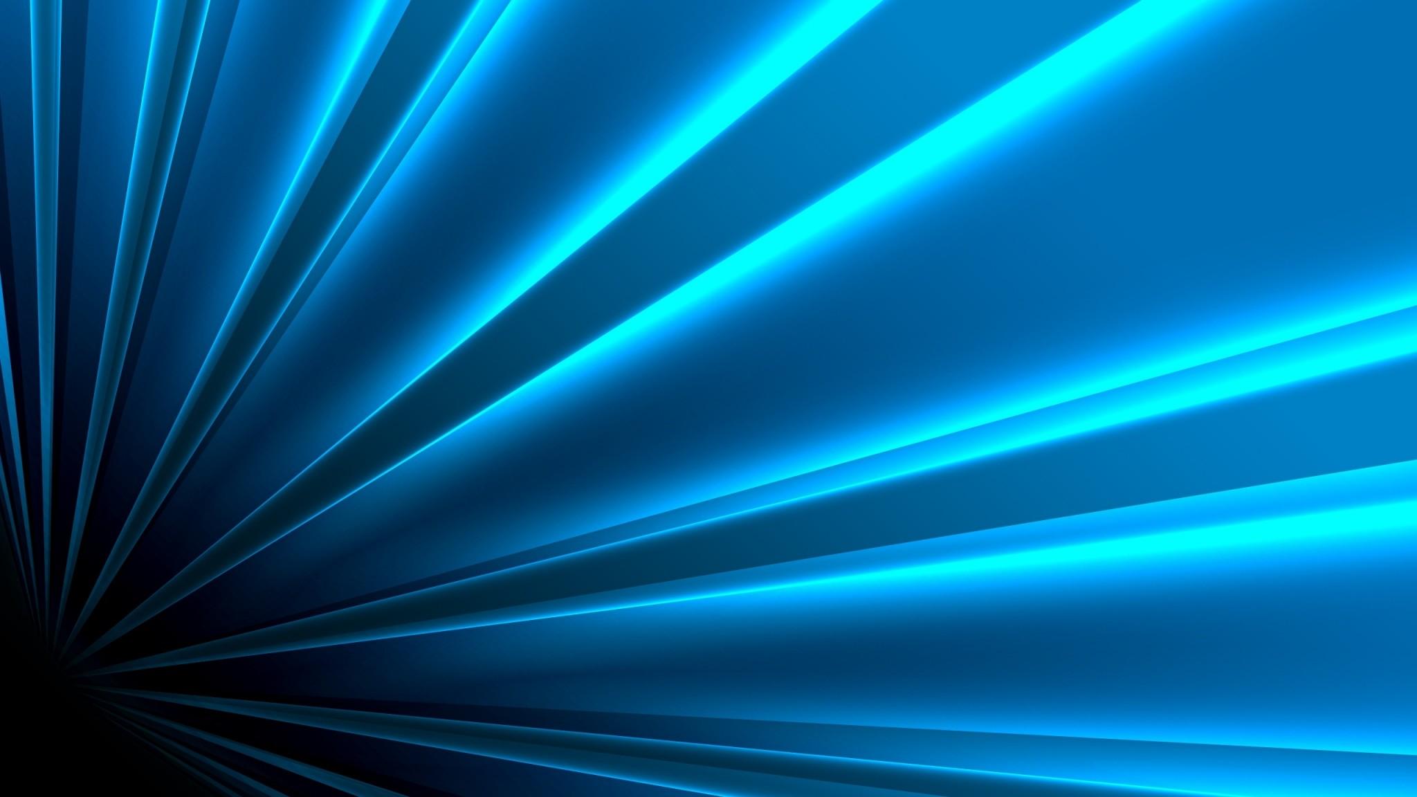 Preview wallpaper blue, white, line, bright 2048×1152