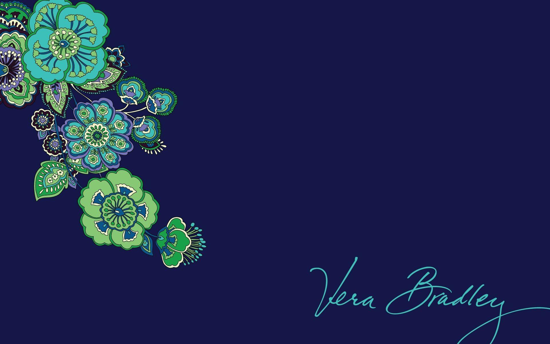 Vera Bradley Blue Rhapsody Desktop Wallpaper