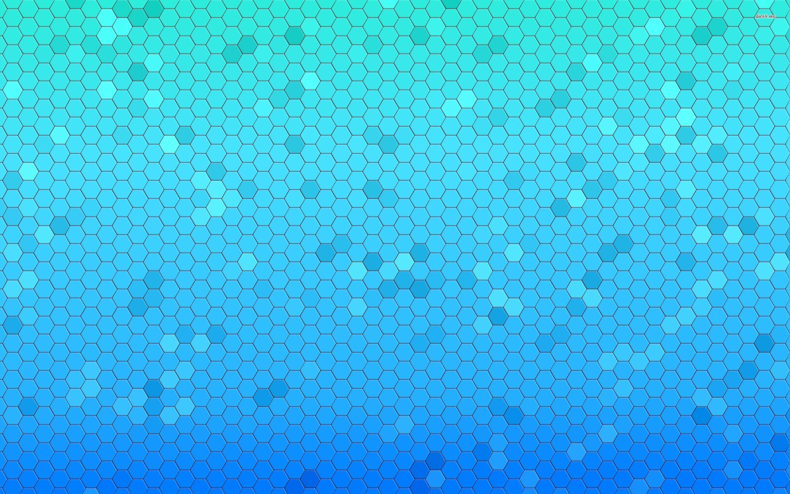 15437-blue-honeycomb-pattern-2560×1600-abstract-wallpaper