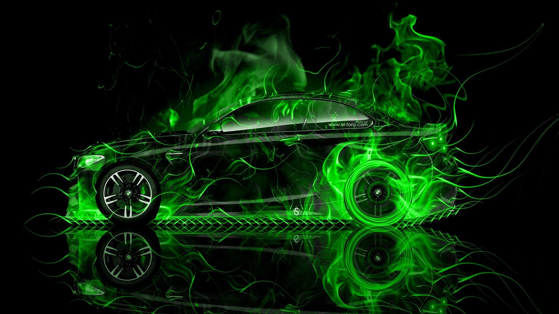 green flame hd wallpaper …