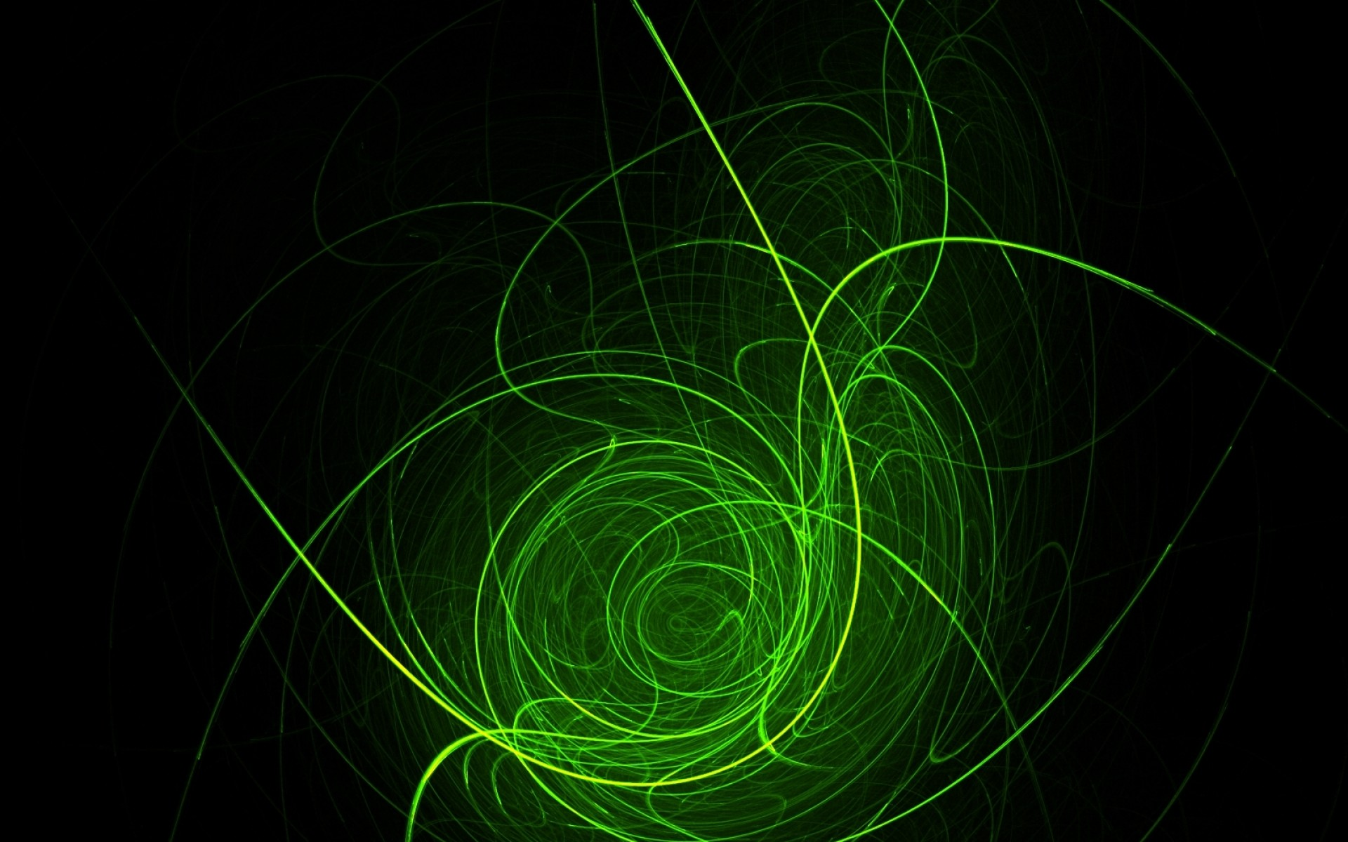 light green abstract smoke circles flash holes messy swirls lines gradient  flame horseshoe nyan rend Wallpaper