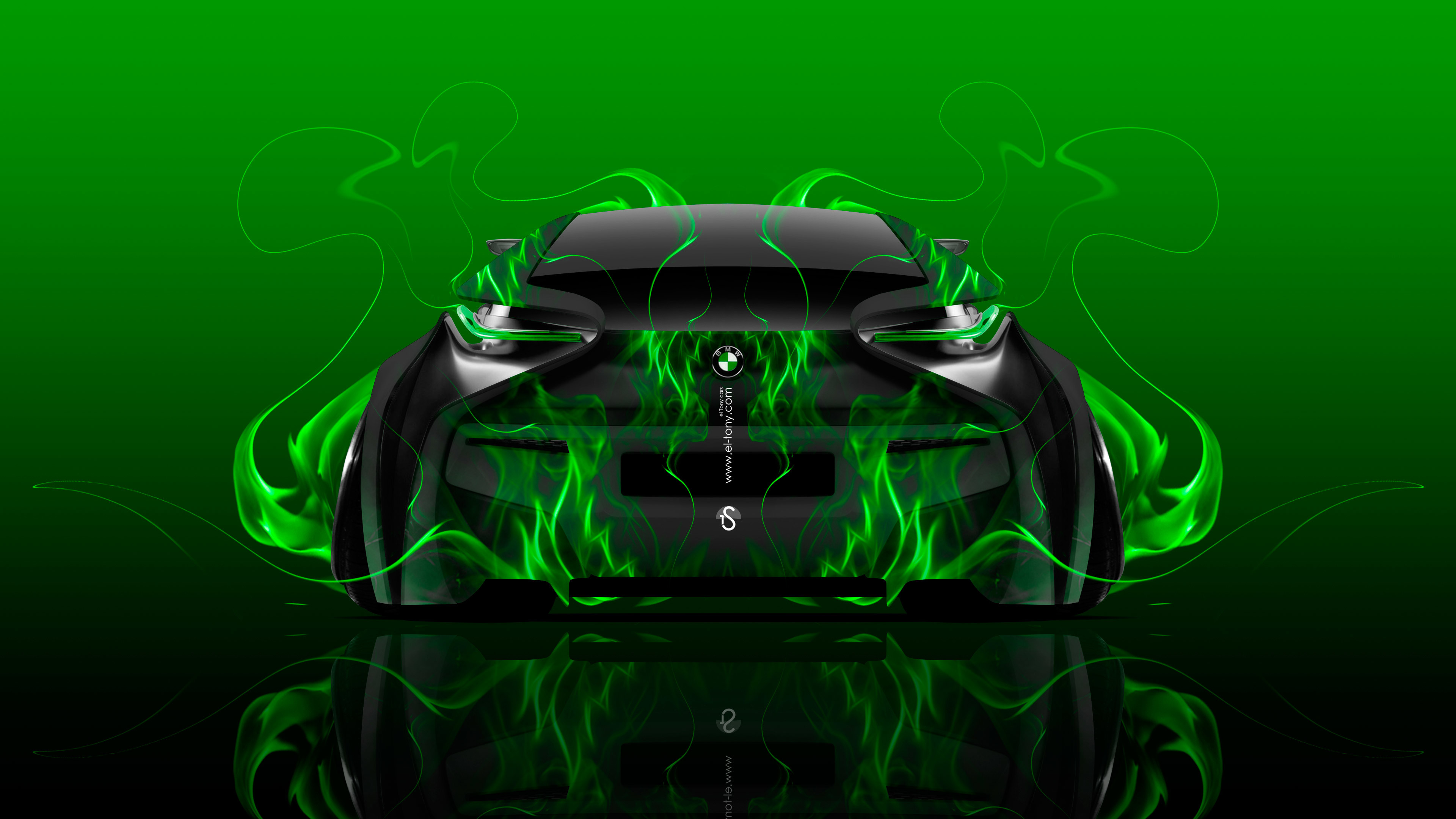 … BMW-i8-Back-Fire-Flame-Abstract-Car-2016-