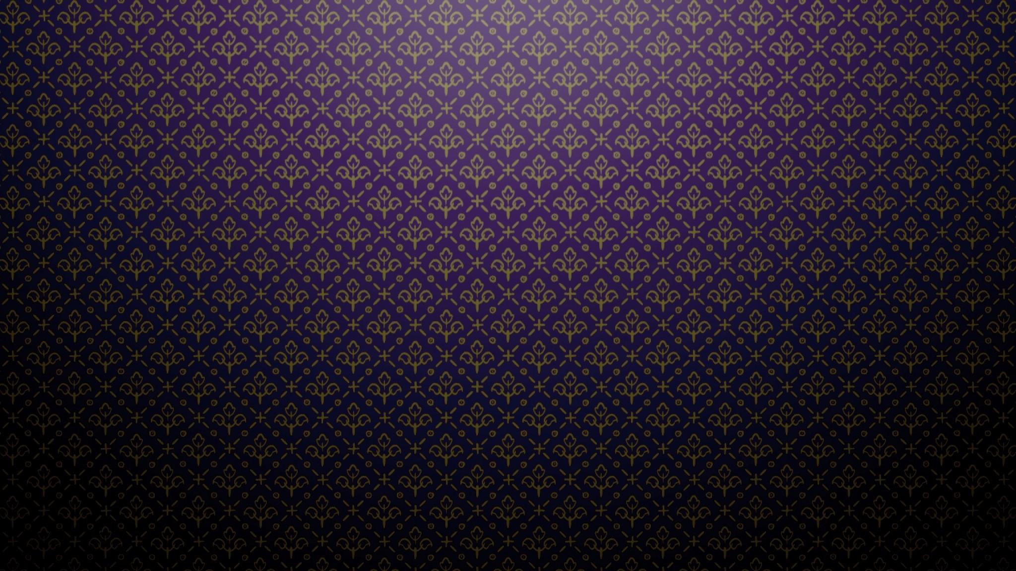 Preview wallpaper purple, dark, patterns, shadows 2048×1152