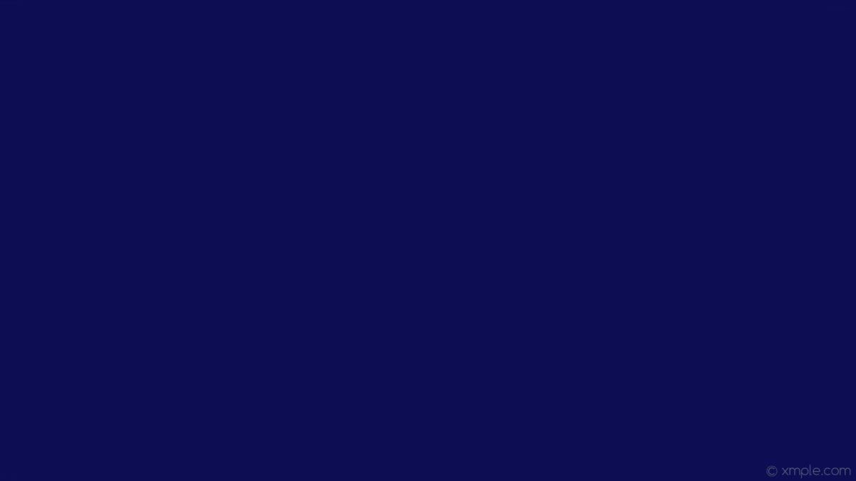 Wallpaper Solid Color Plain One Colour Single Blue Dark Blue 0c0d52