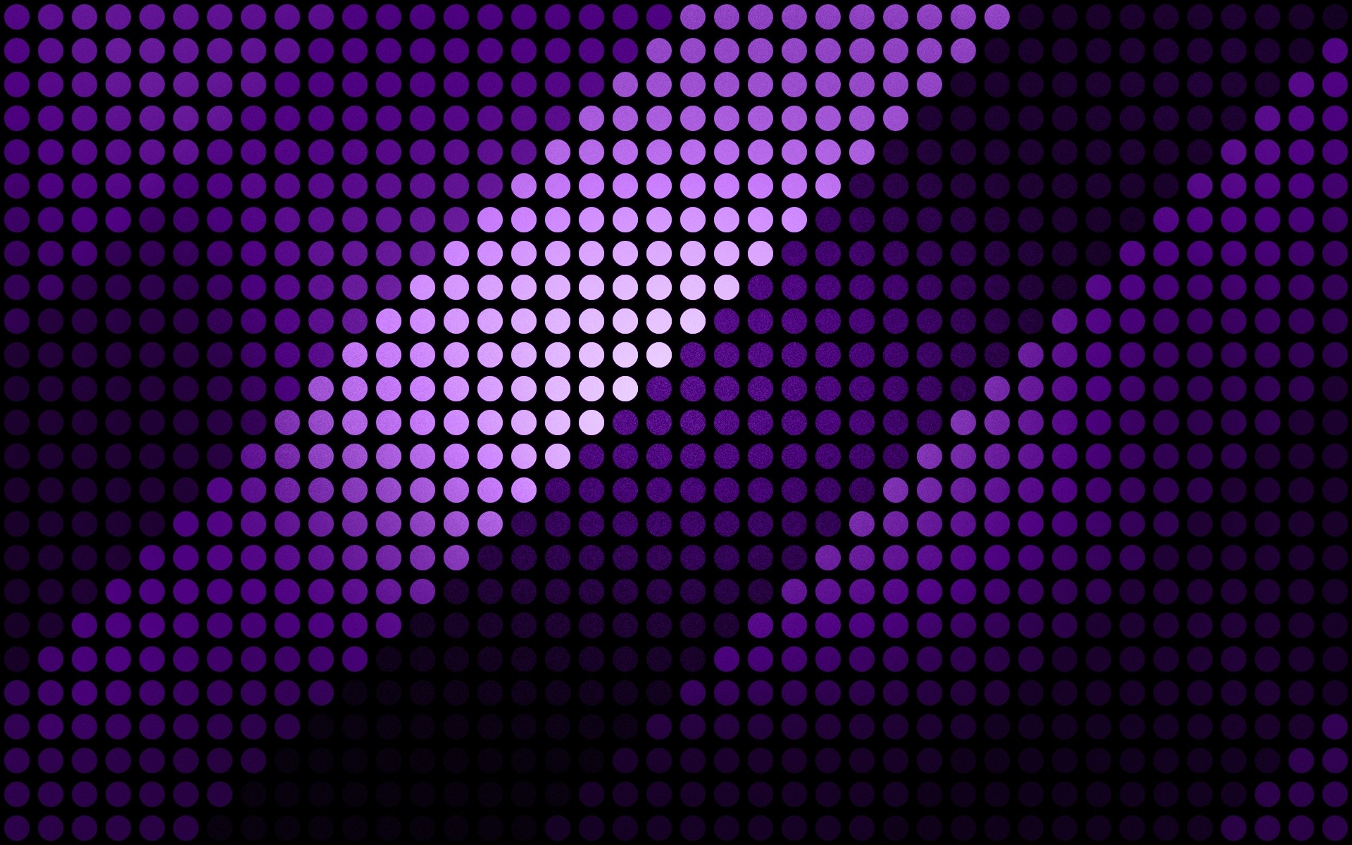Artistic Purple Dots Wallpaper