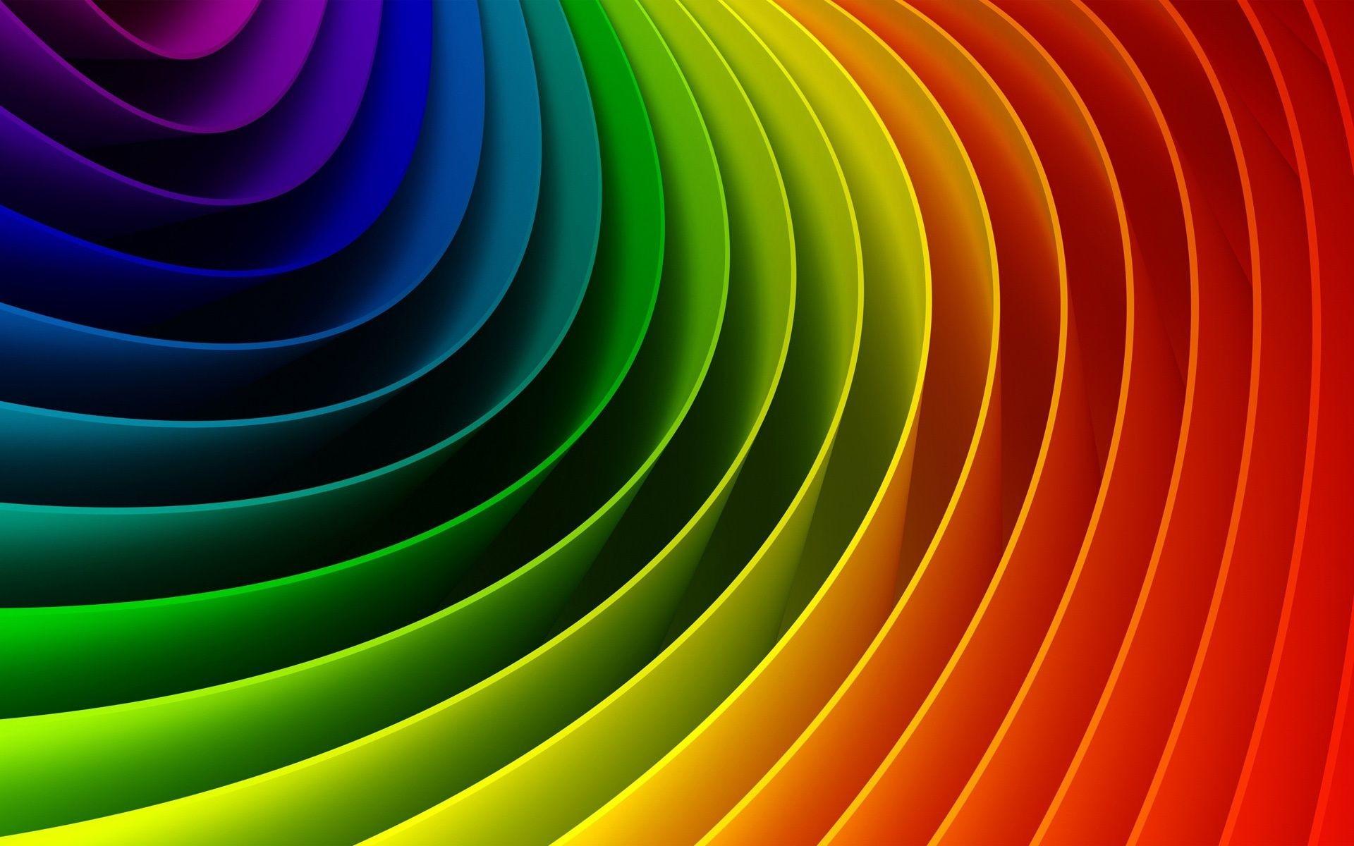 Colors Of The Rainbow. rainbow colors minimal desktop wallpaper