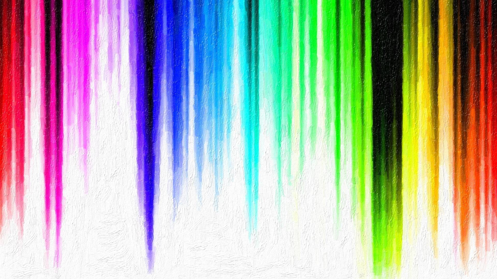 Rainbow Colors & Stripes HD Wallpaper @ 1080p HD Wallpapers