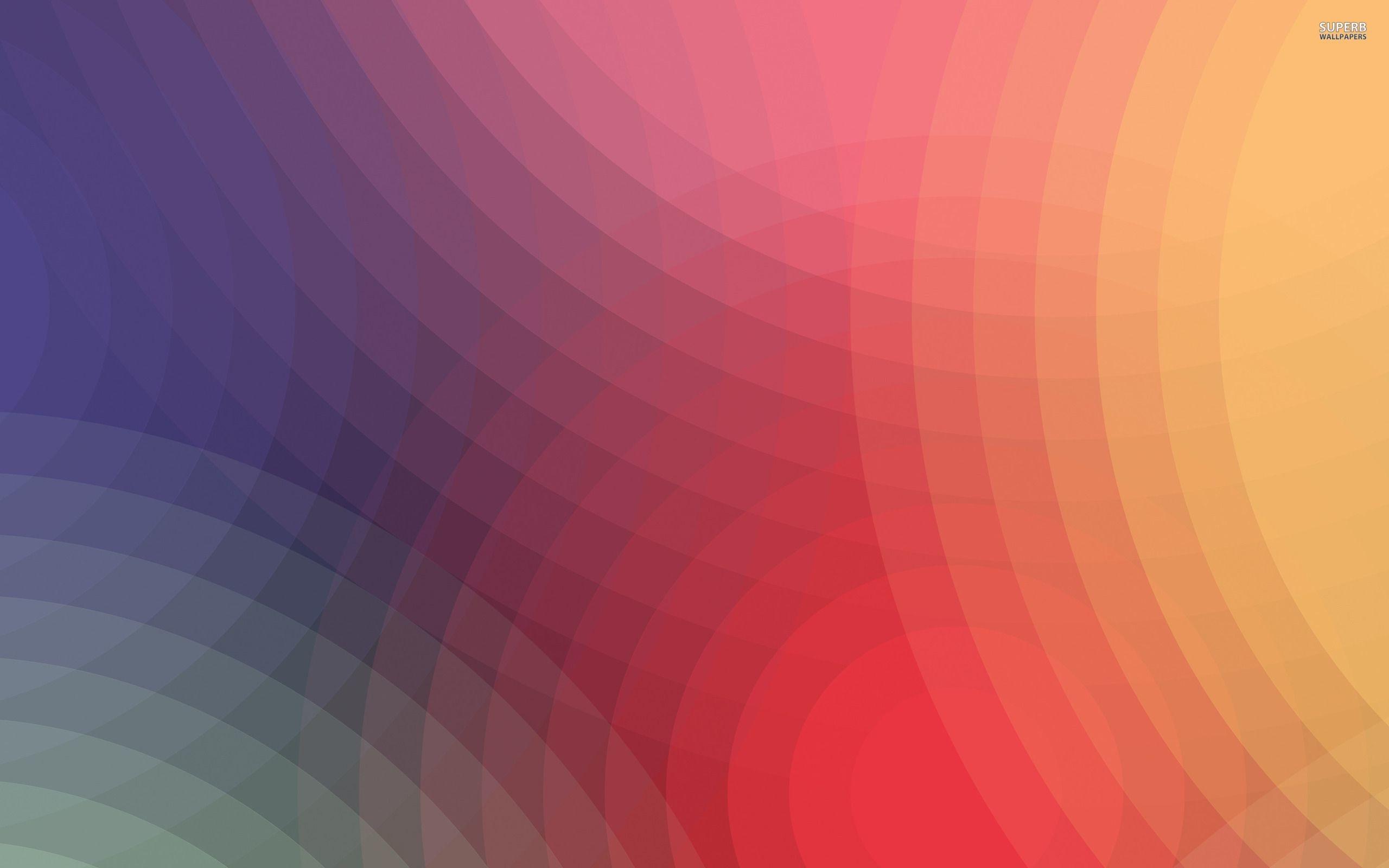 Rainbow colored circles wallpaper – Abstract wallpapers – #17720