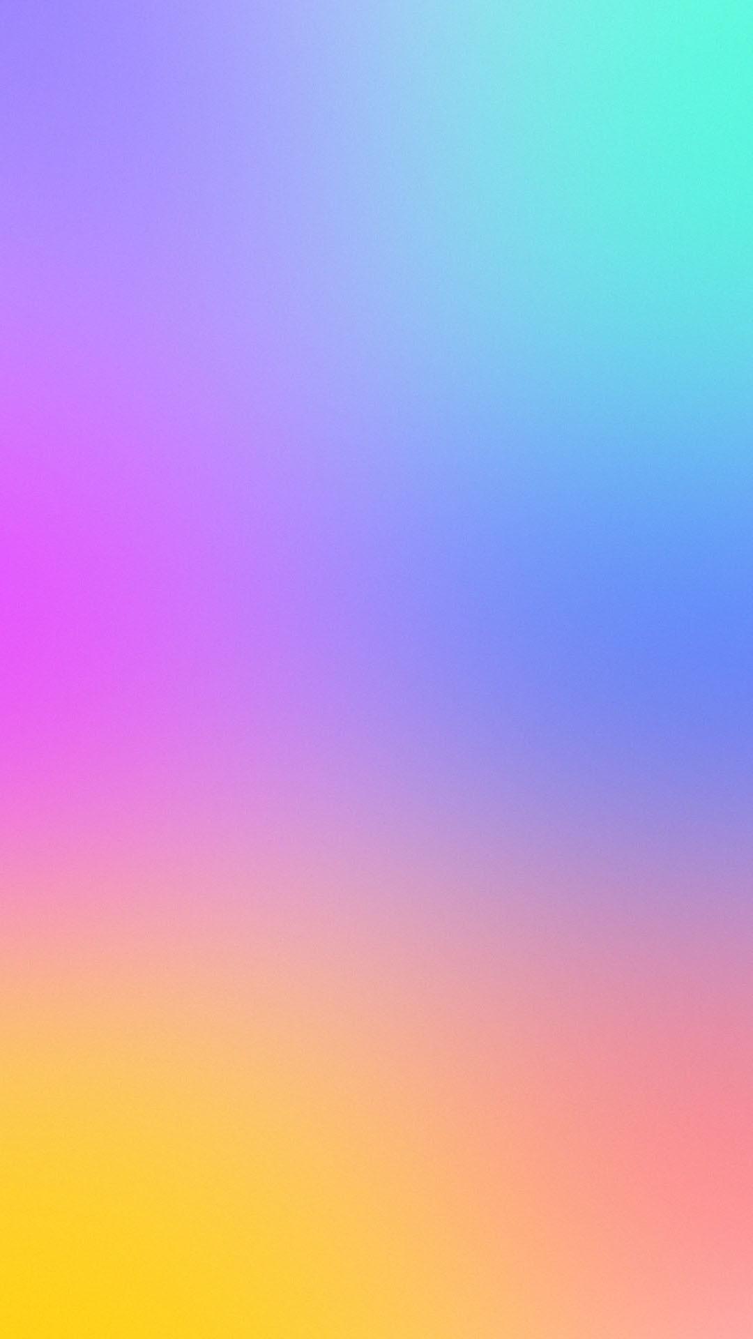 Rainbow Heart Wallpaper – iPhone