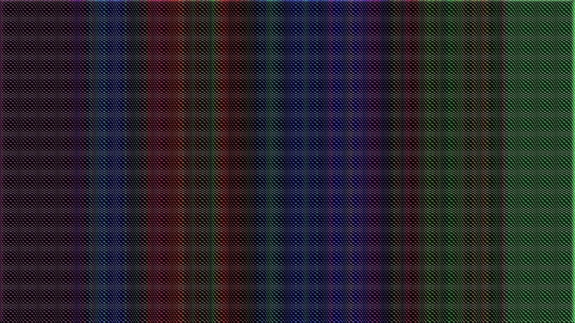 Rainbow Colored Squares