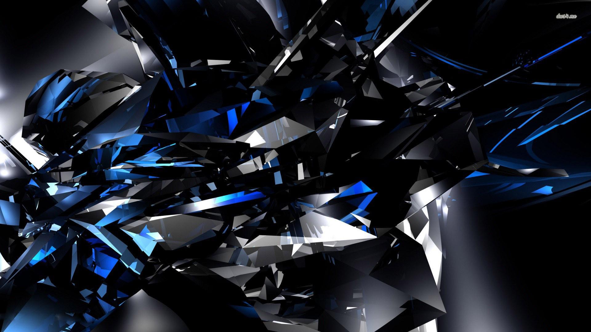 Black And Blue Desktop Wallpaper 4 Background
