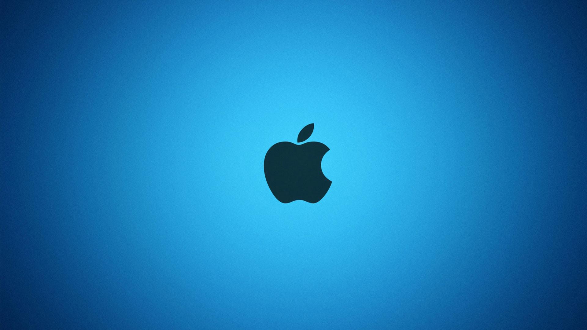 hd pics photos best black apple logo in blue background stunning hd quality  desktop background wallpaper