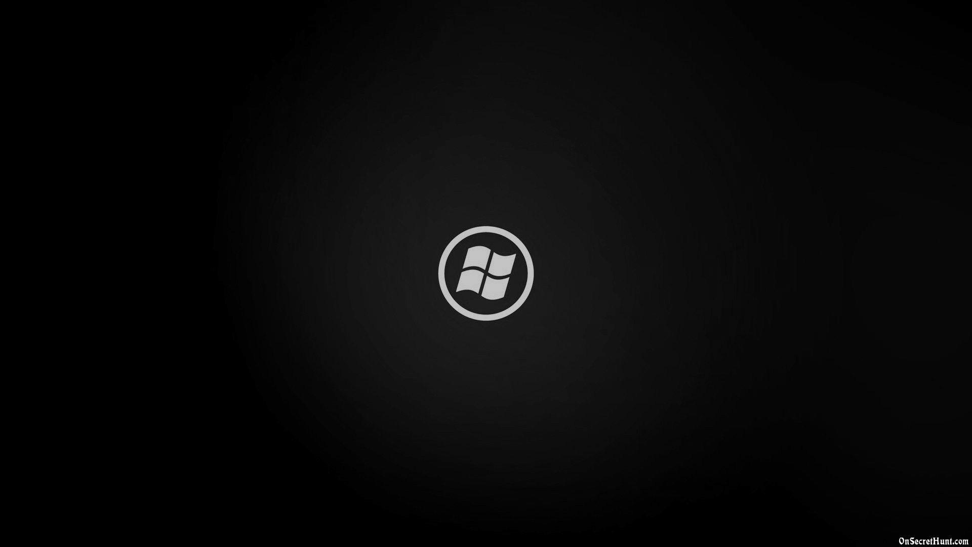 Black Wallpaper of Windows background – BACKGROUND WALLPAPER .