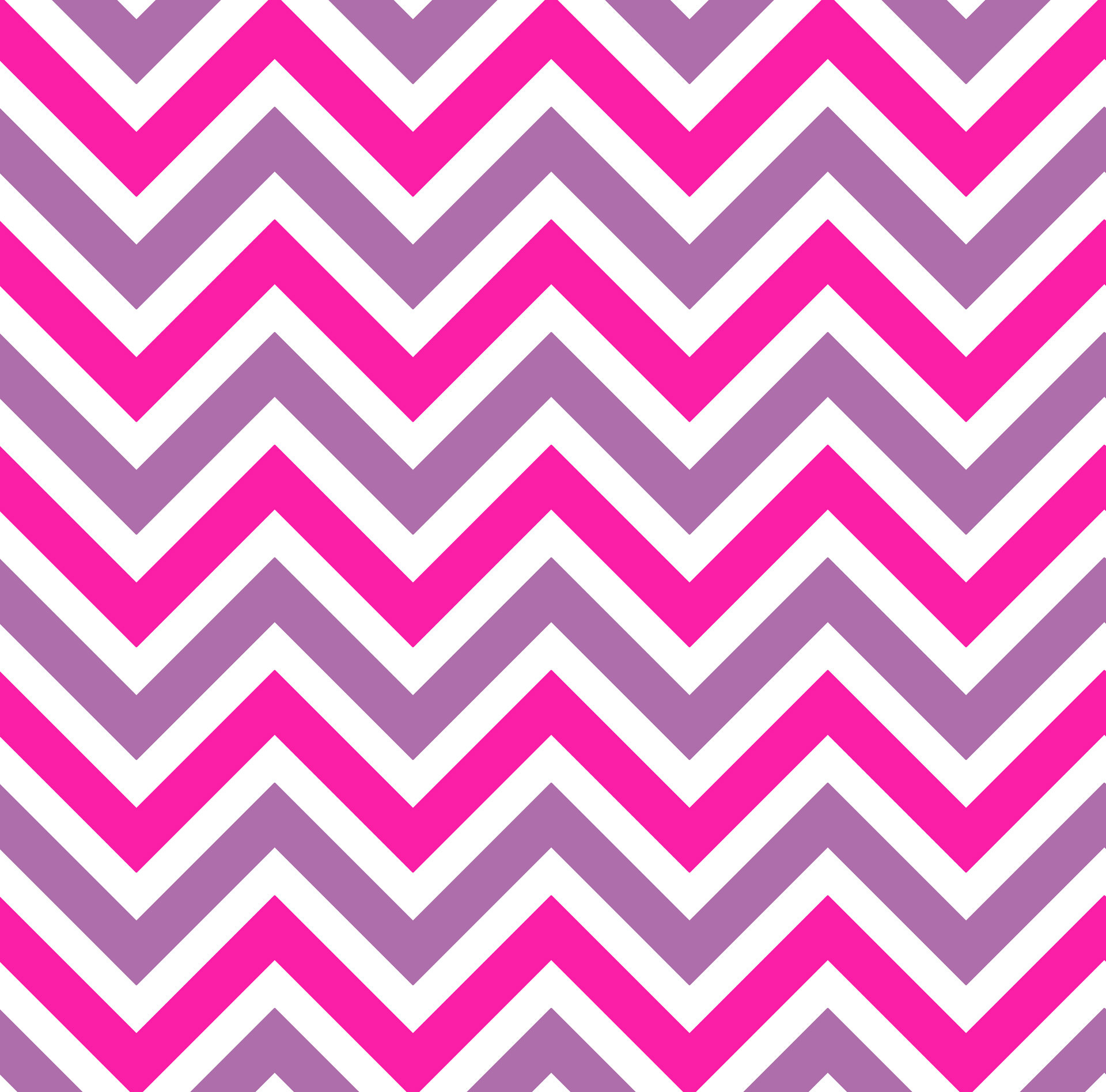 Chevrons Stripes Pink Background