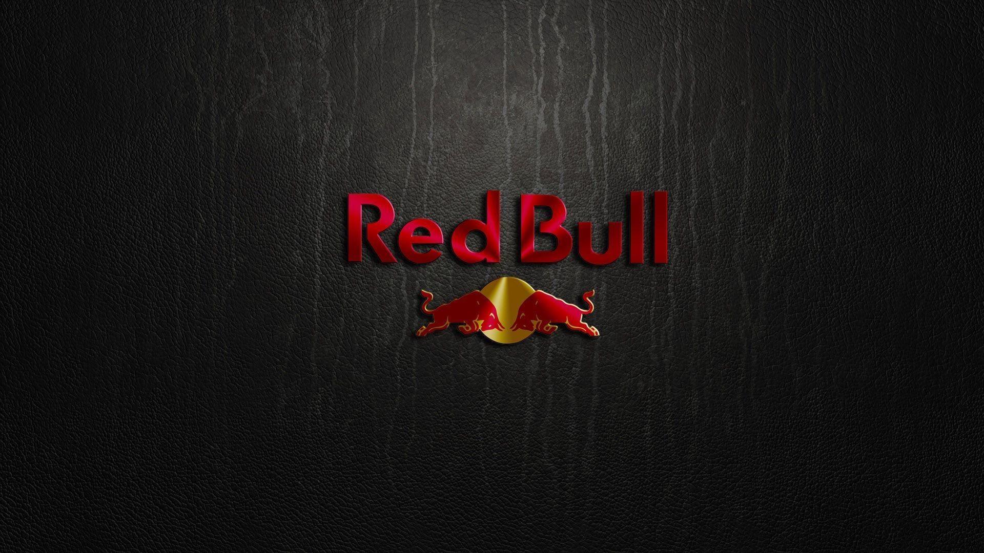 Cool Red Bull Logo Wallpaper