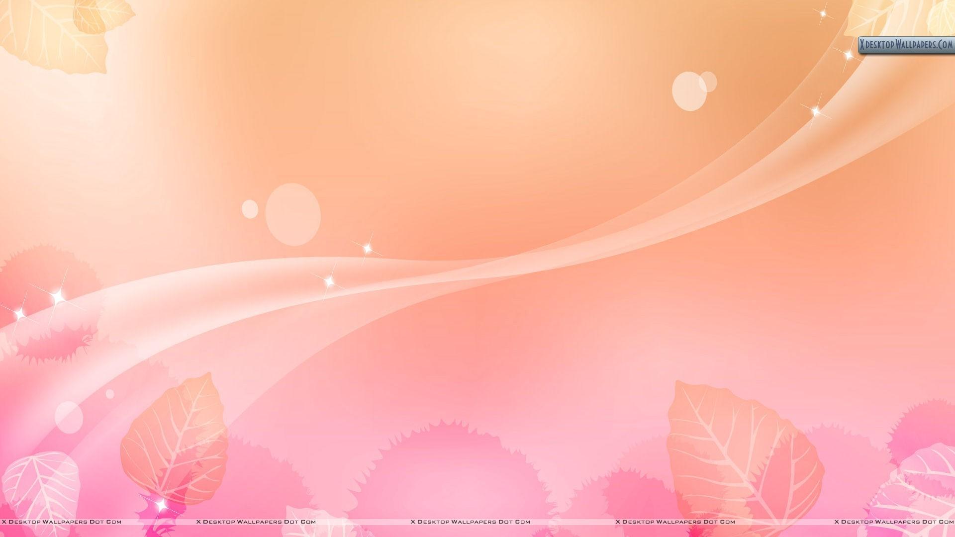 Light Pink Flower Abstract Background Wallpaper