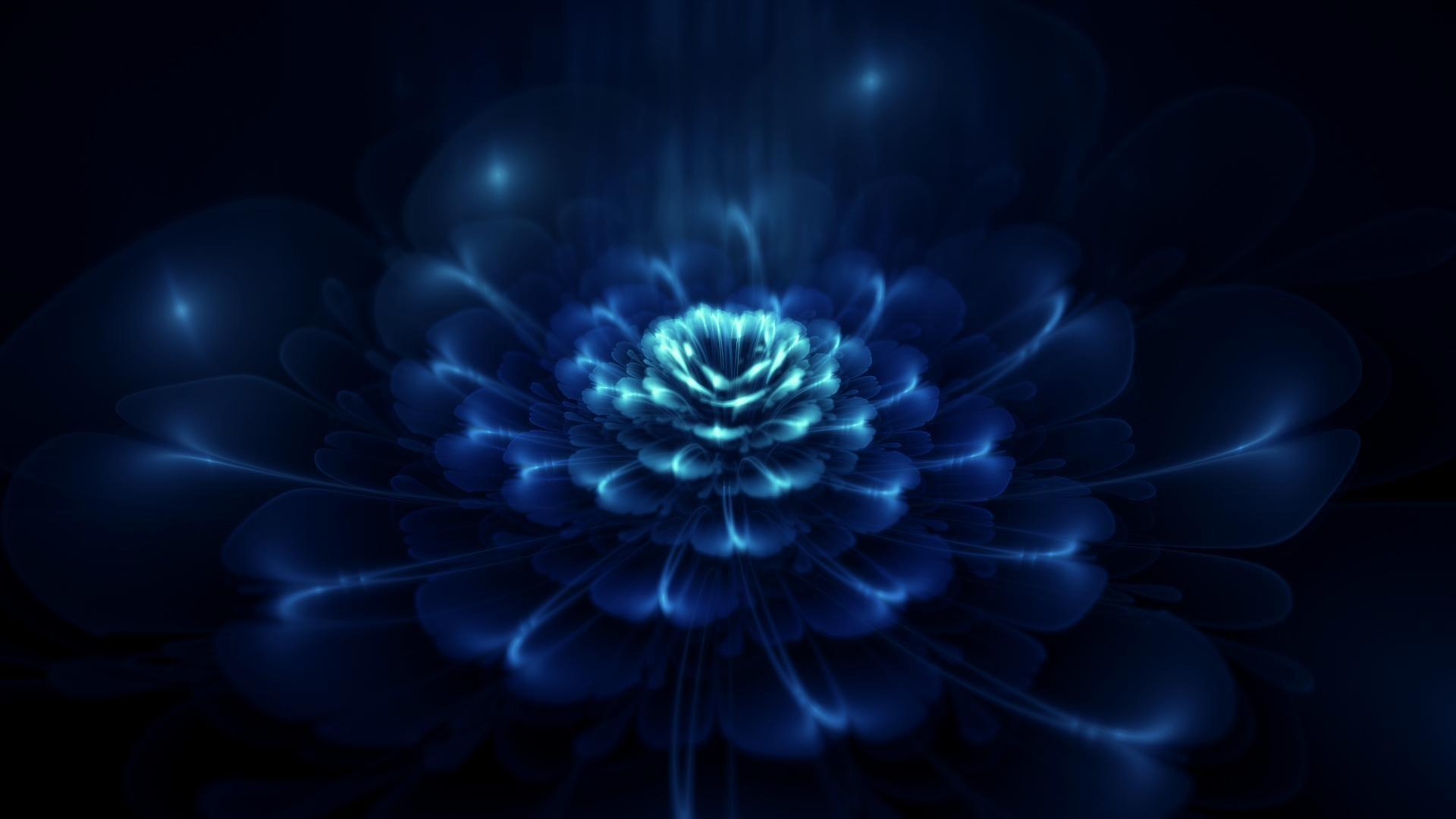 Midwinter-blue-abstract-flower